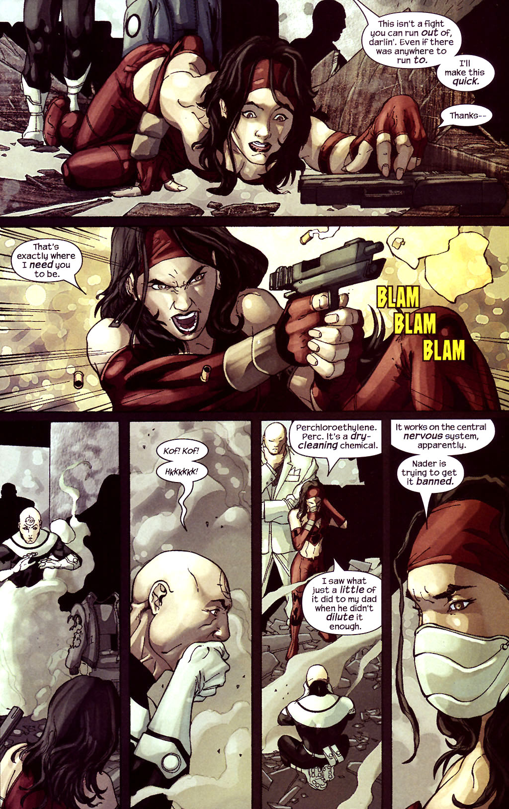 Read online Ultimate Elektra comic -  Issue #5 - 21