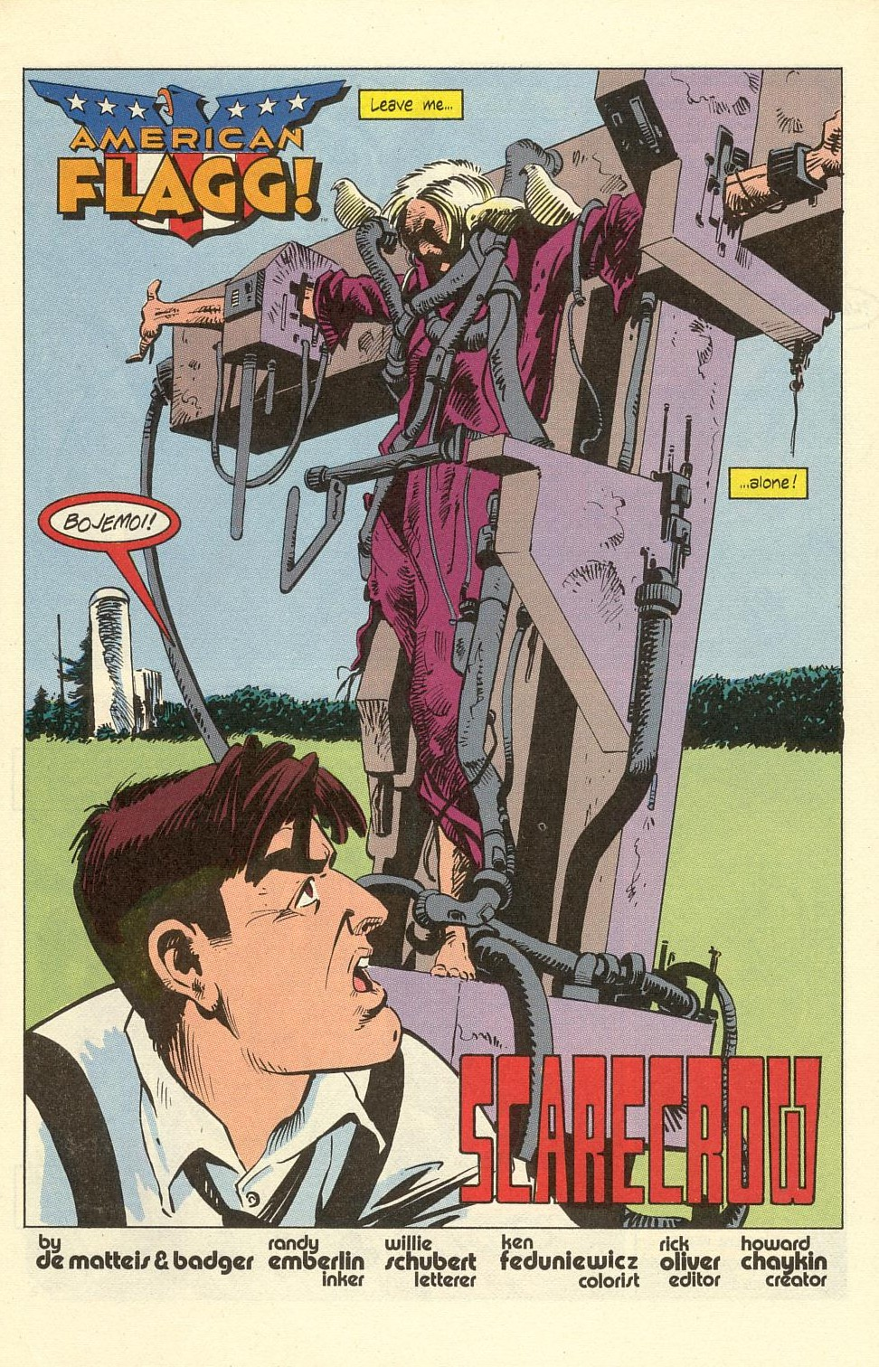 Read online American Flagg! comic -  Issue #40 - 5
