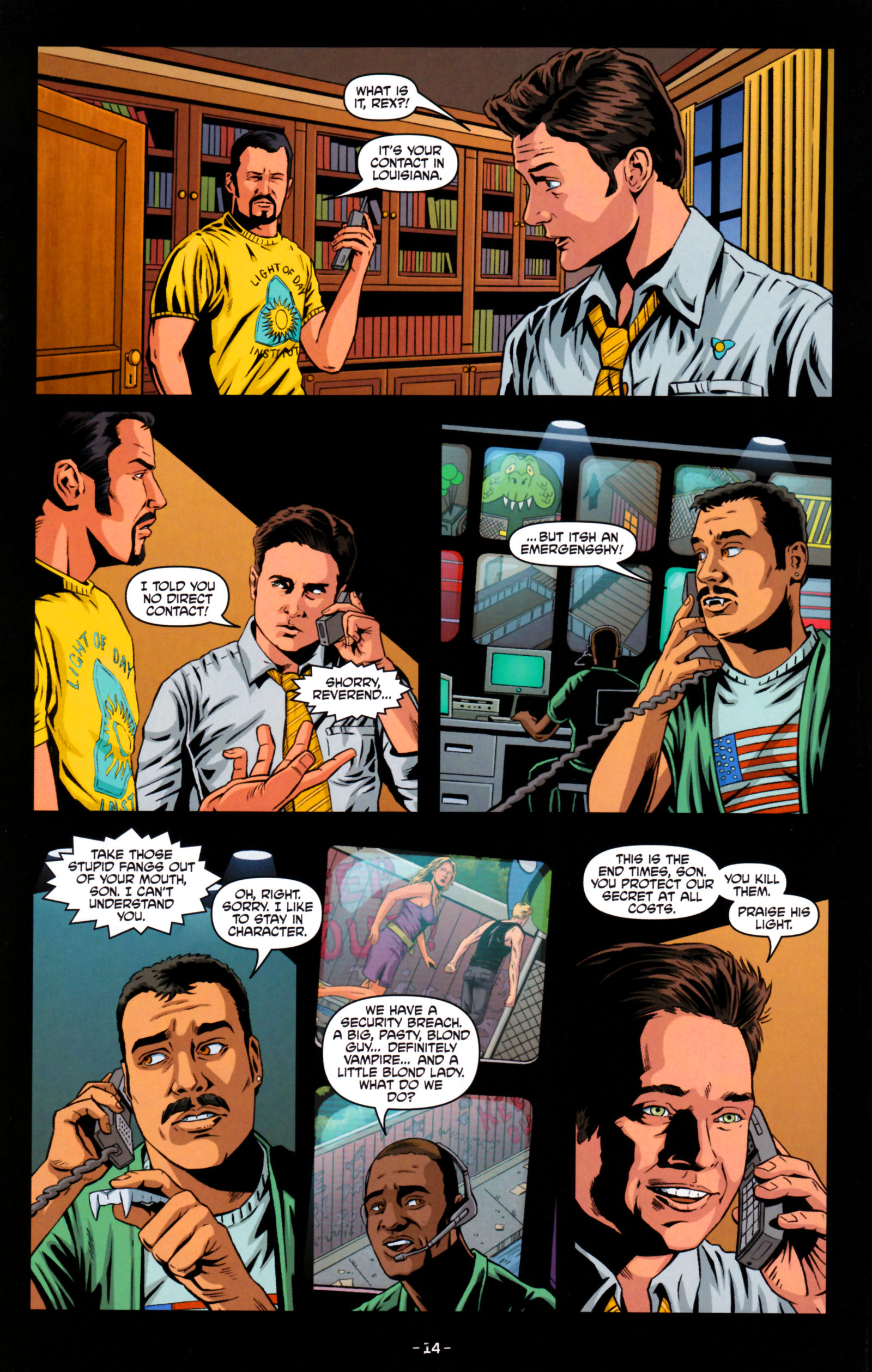 Read online True Blood: Tainted Love comic -  Issue #5 - 17