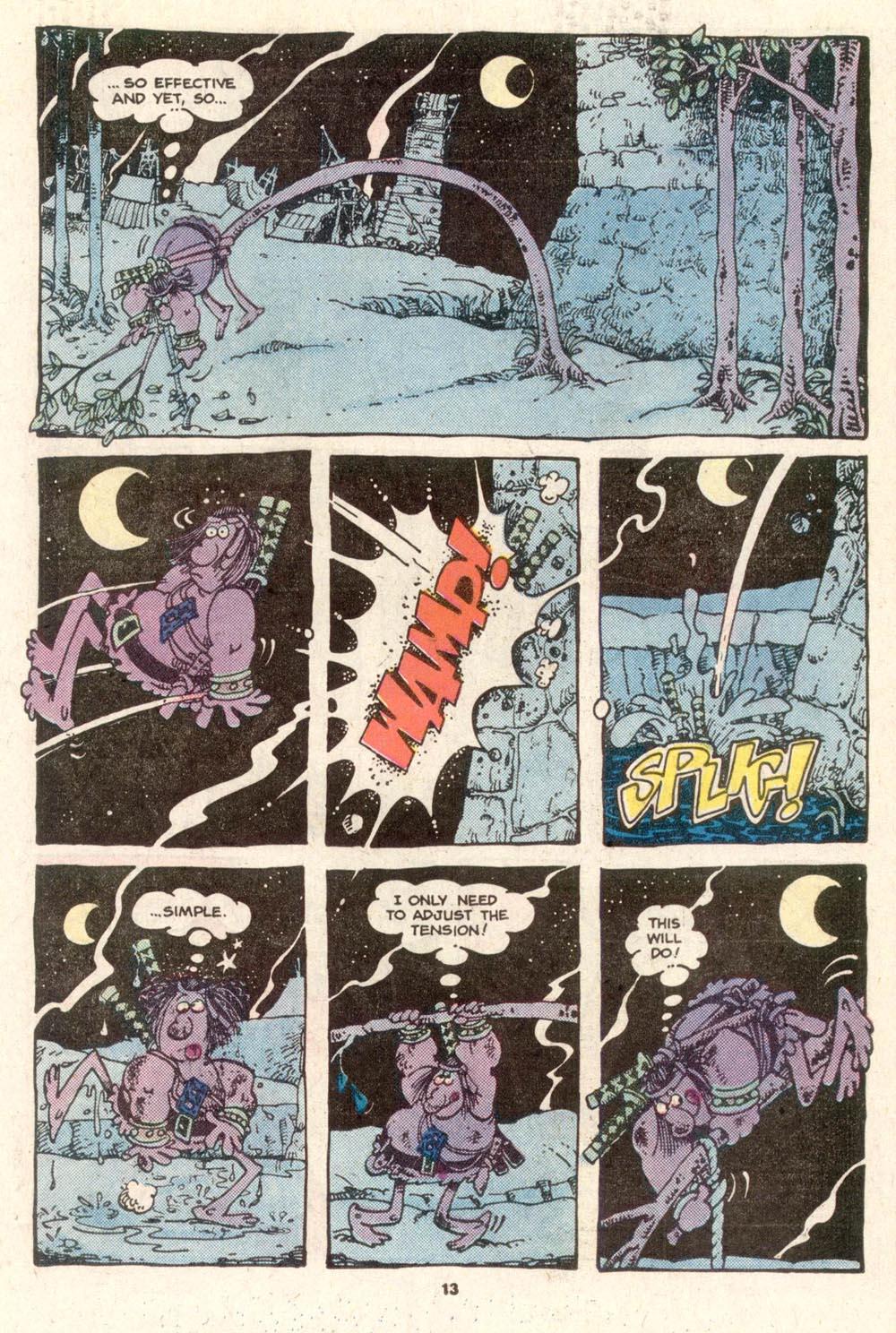 Read online Sergio Aragonés Groo the Wanderer comic -  Issue #19 - 13
