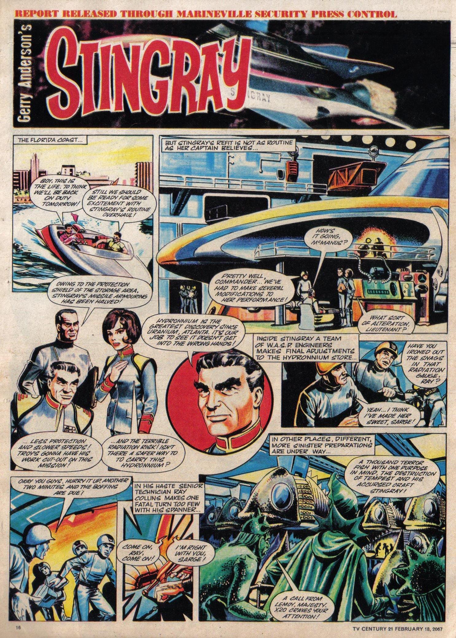 Read online TV Century 21 (TV 21) comic -  Issue #109 - 15