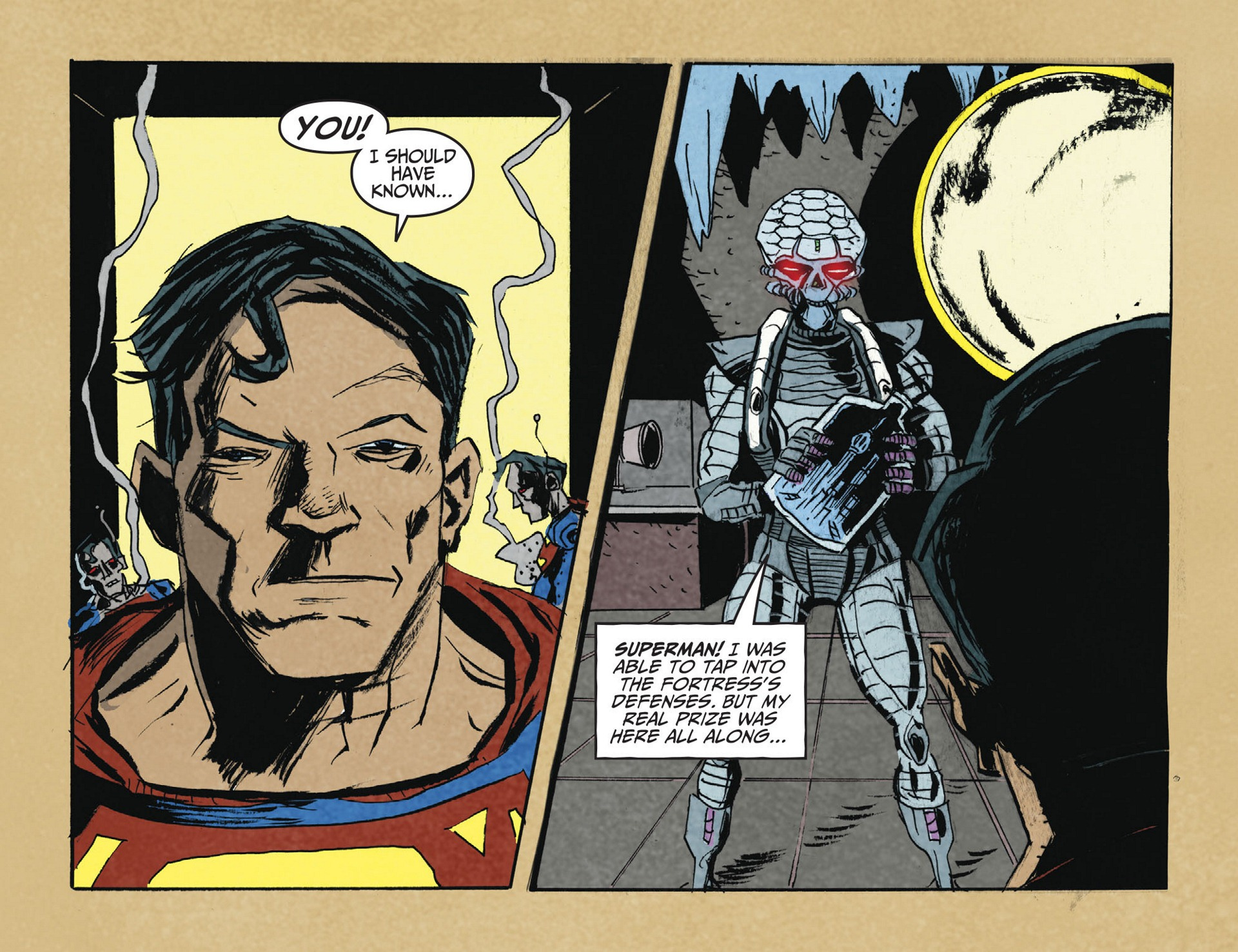 Read online Adventures of Superman [I] comic -  Issue #2 - 8