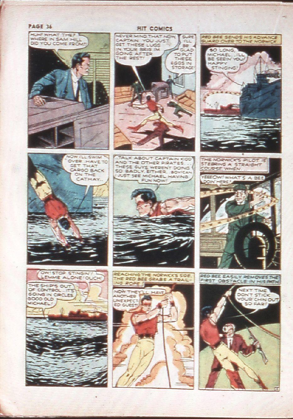 Read online Hit Comics comic -  Issue #10 - 38