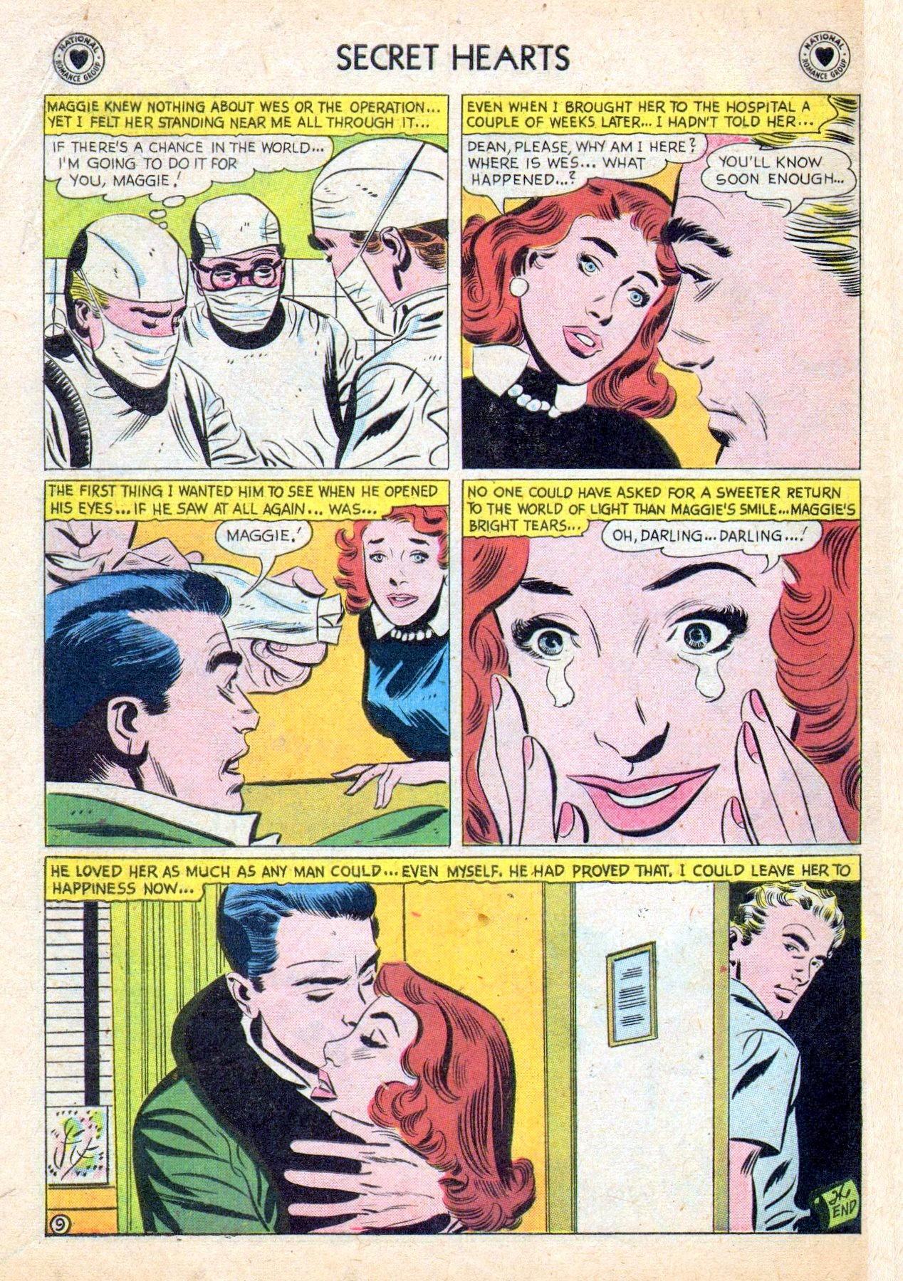 Read online Secret Hearts comic -  Issue #53 - 34
