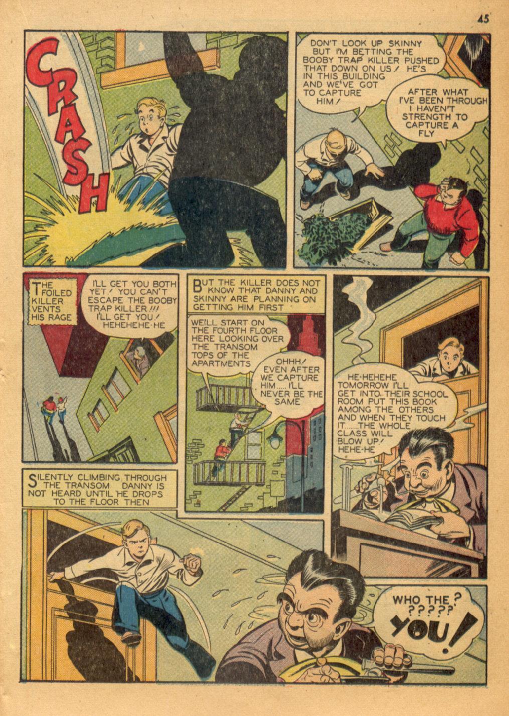 Read online Shadow Comics comic -  Issue #32 - 46