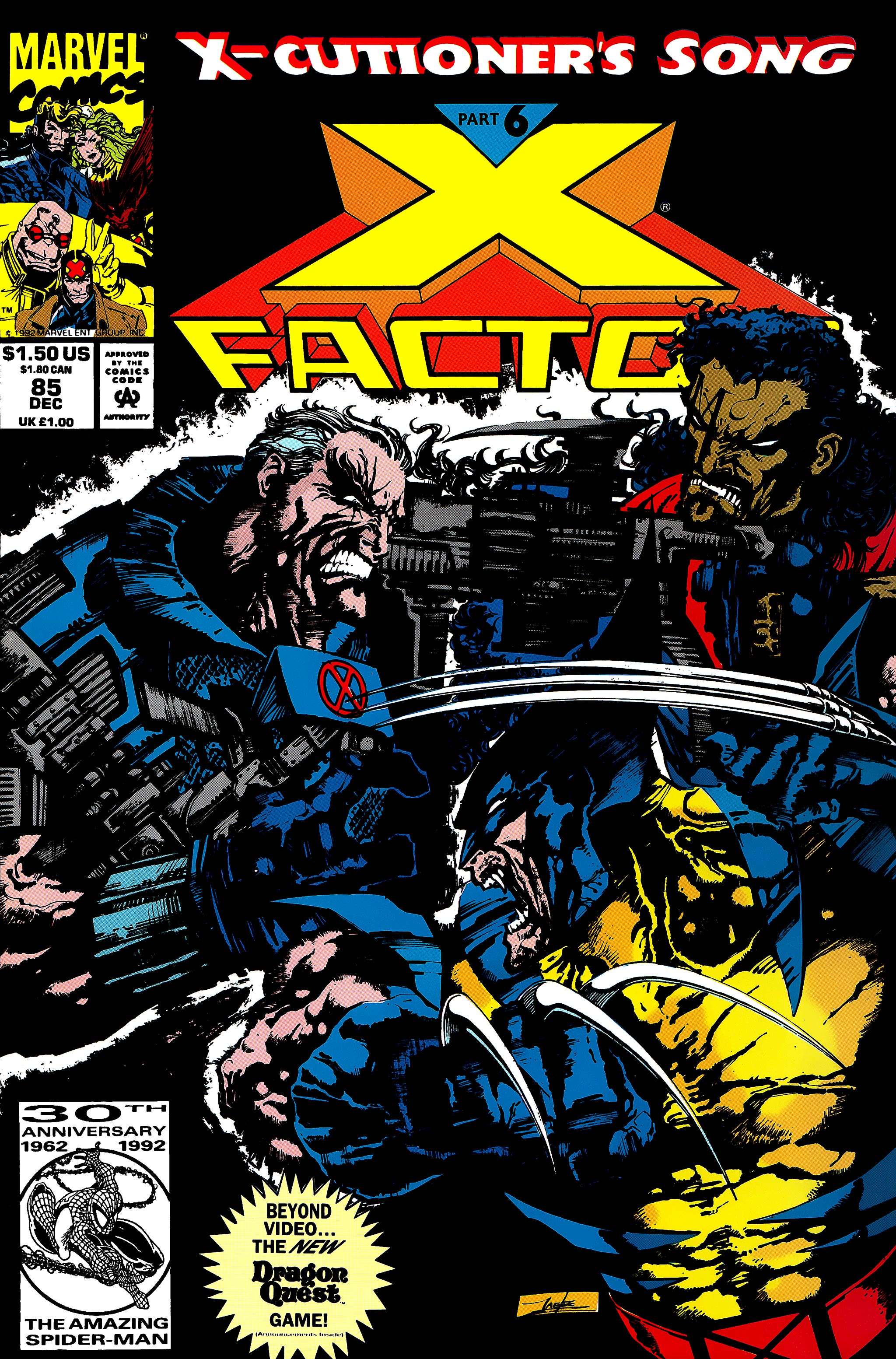 Read online X-Factor (1986) comic -  Issue #85 - 1