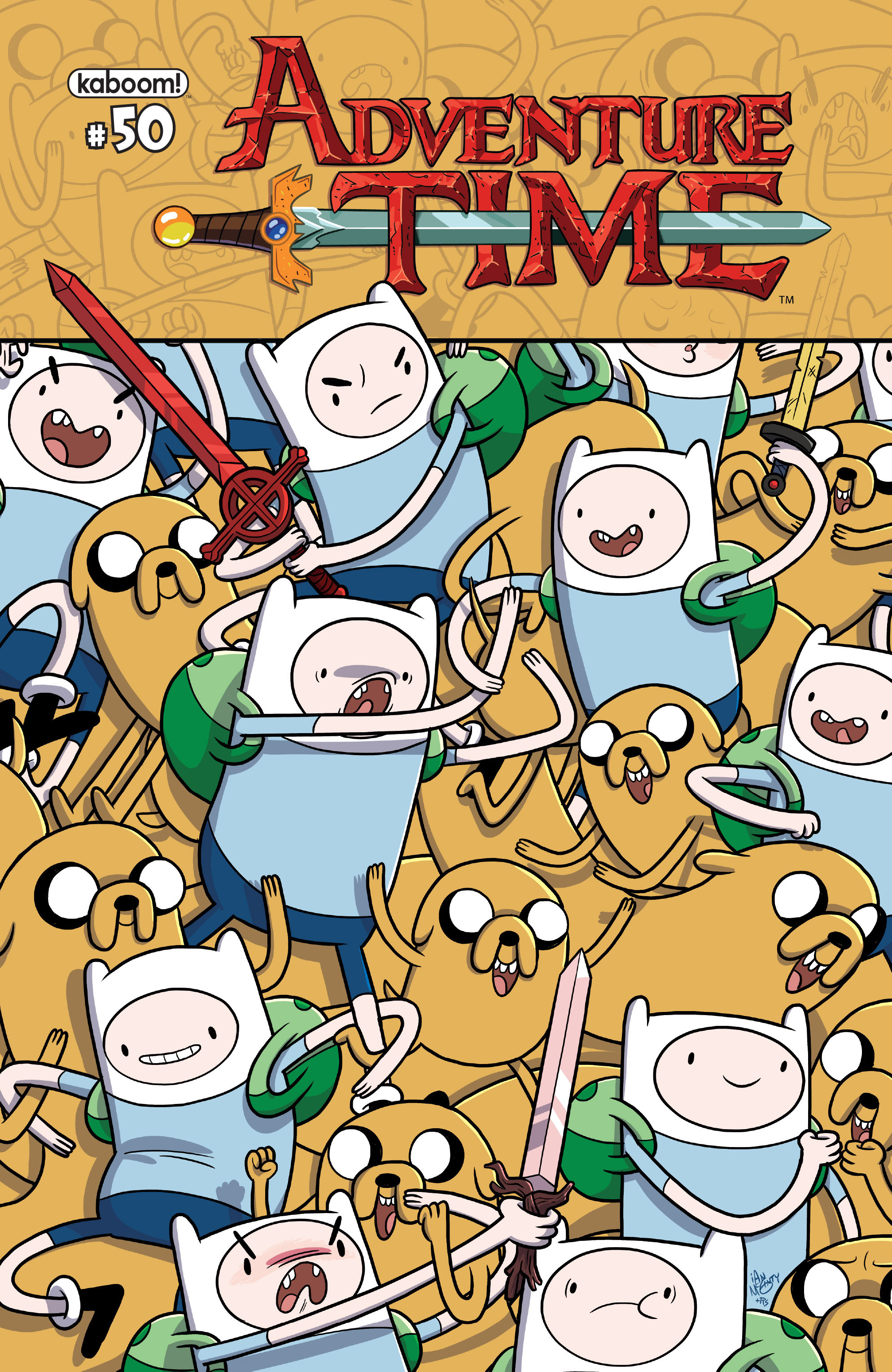 Read online Adventure Time comic -  Issue #50 - 1