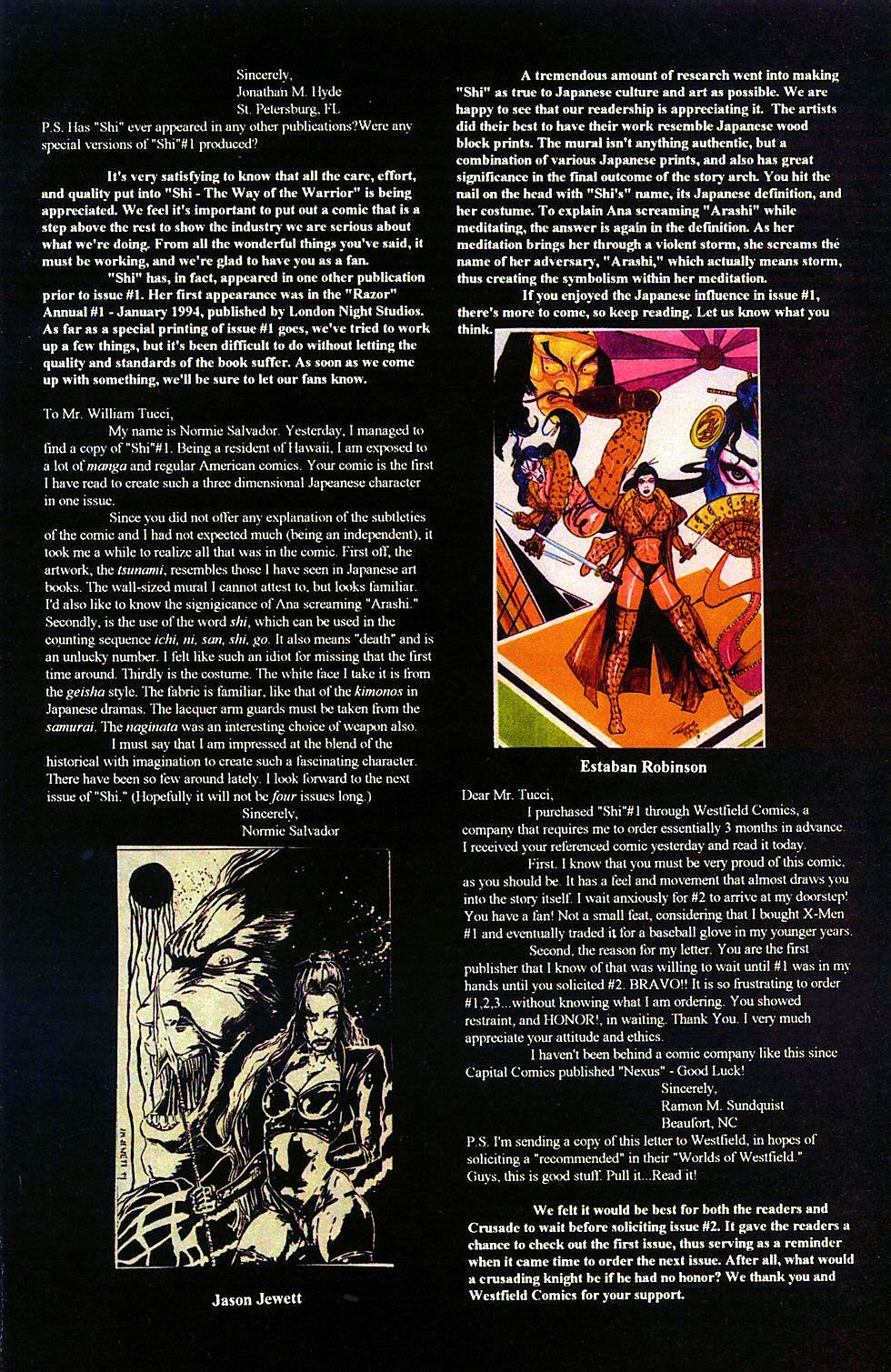 Read online Shi: The Way of the Warrior comic -  Issue #2 - 32