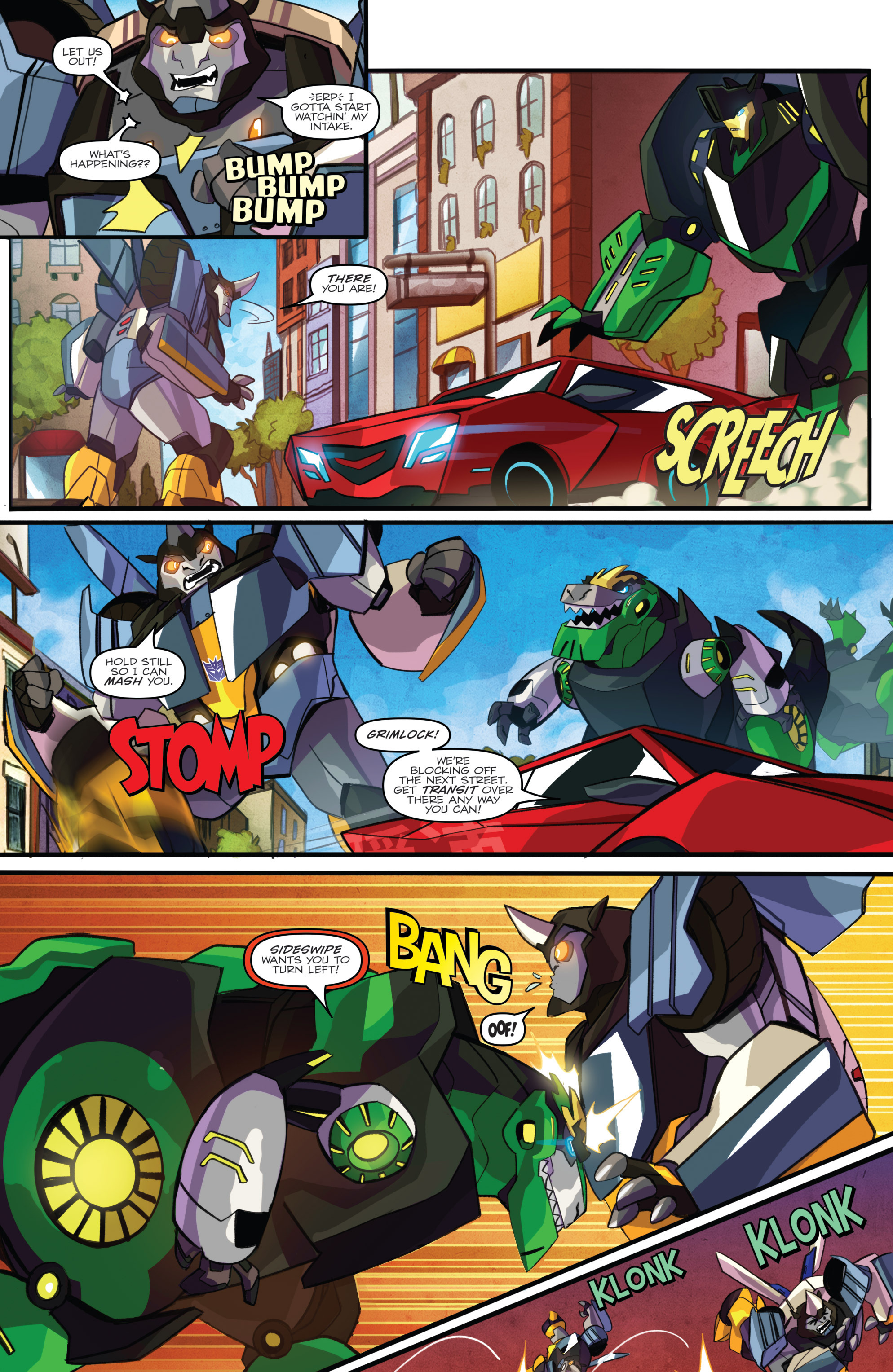 Read online Transformers: Robots In Disguise (2015) comic -  Issue #2 - 6