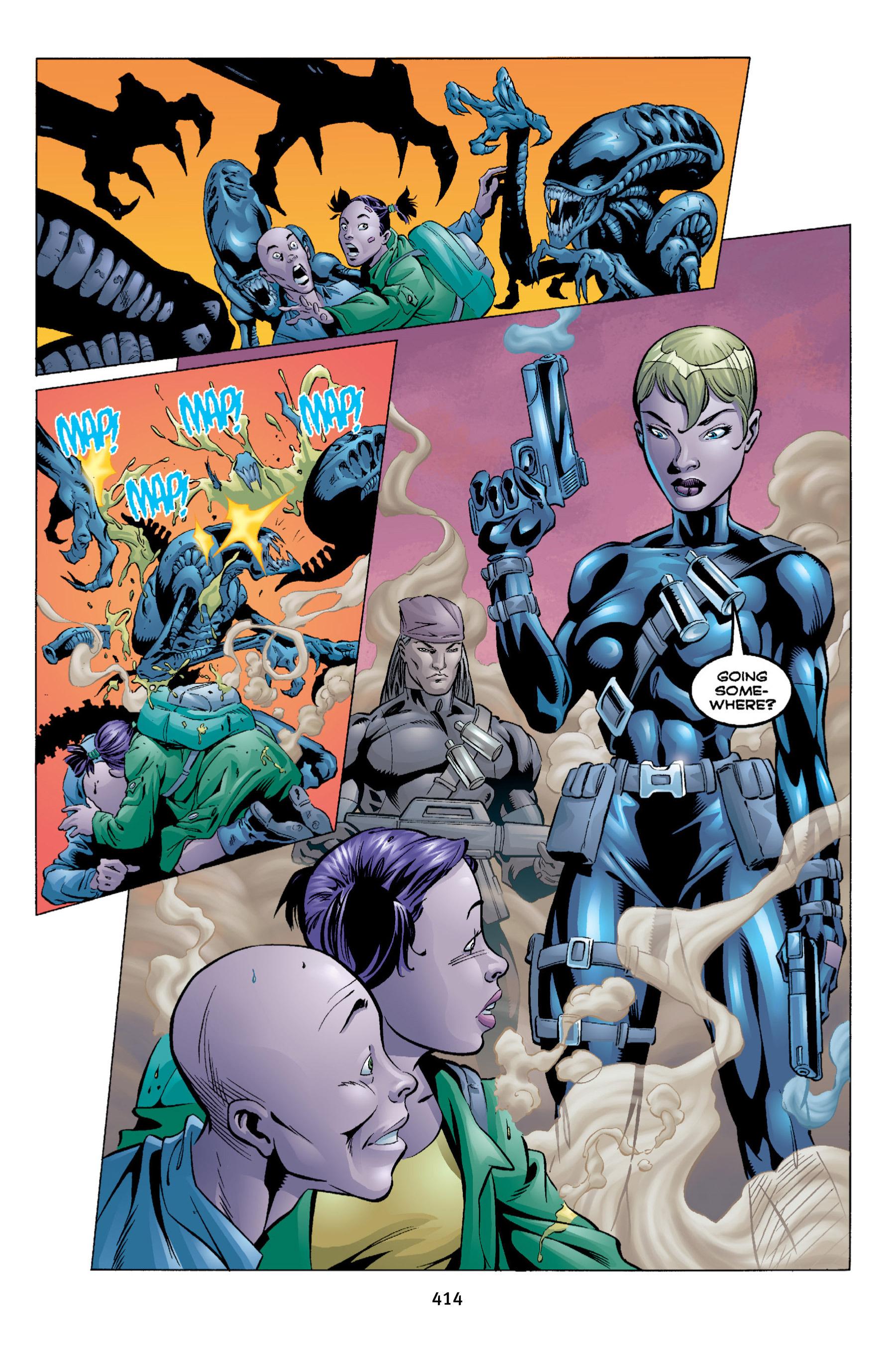 Read online Aliens vs. Predator Omnibus comic -  Issue # _TPB 2 Part 4 - 78