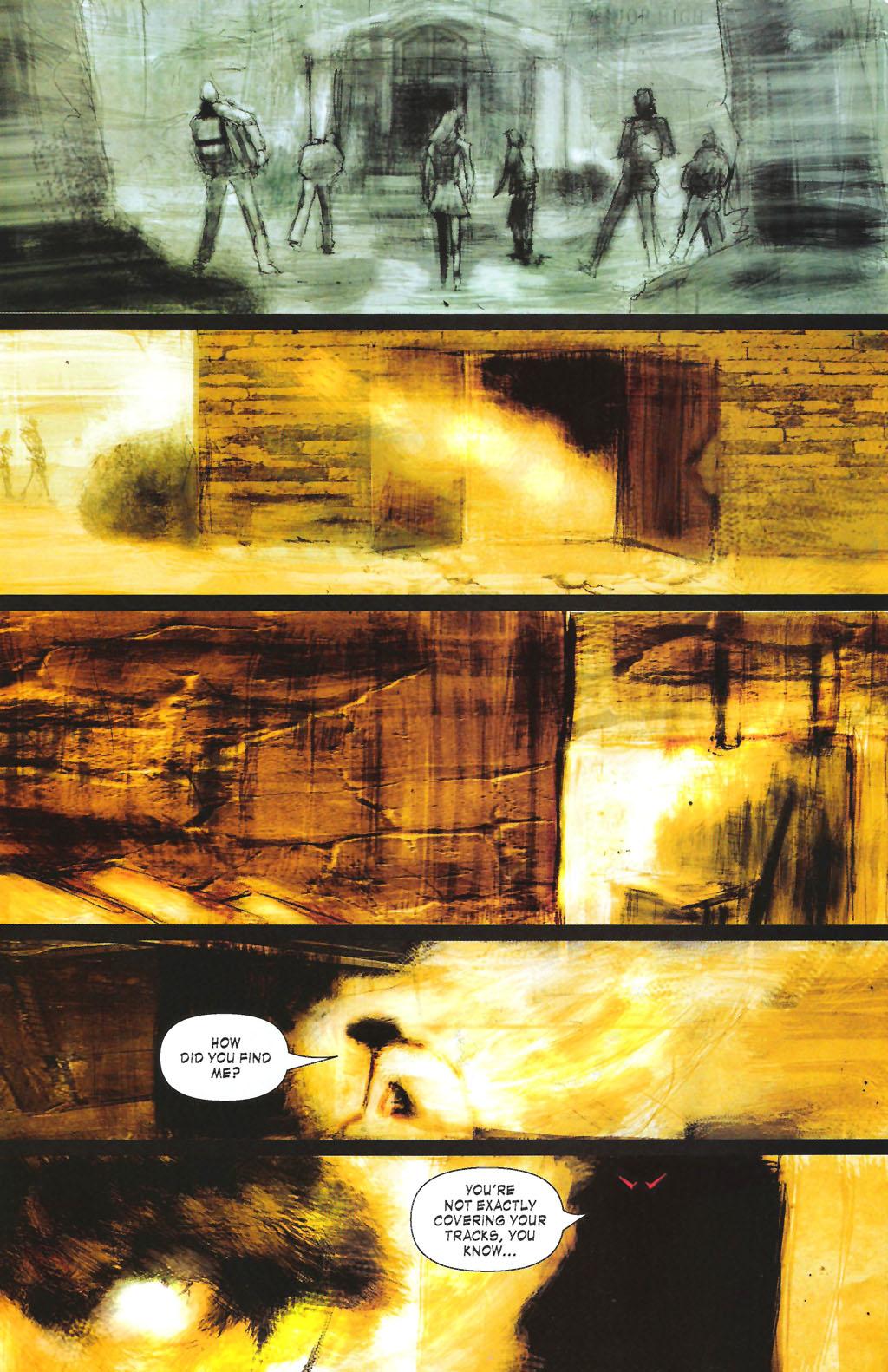Read online ShadowHawk (2005) comic -  Issue #7 - 22