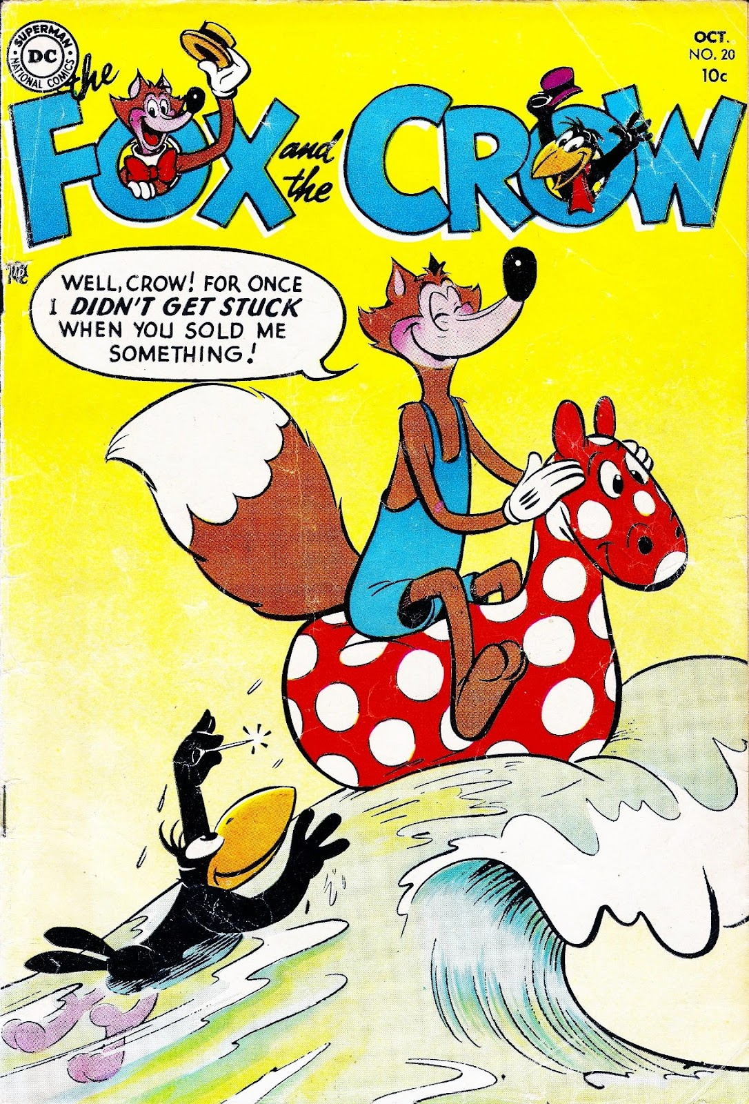 The Fox and the Crow issue 20 - Page 1