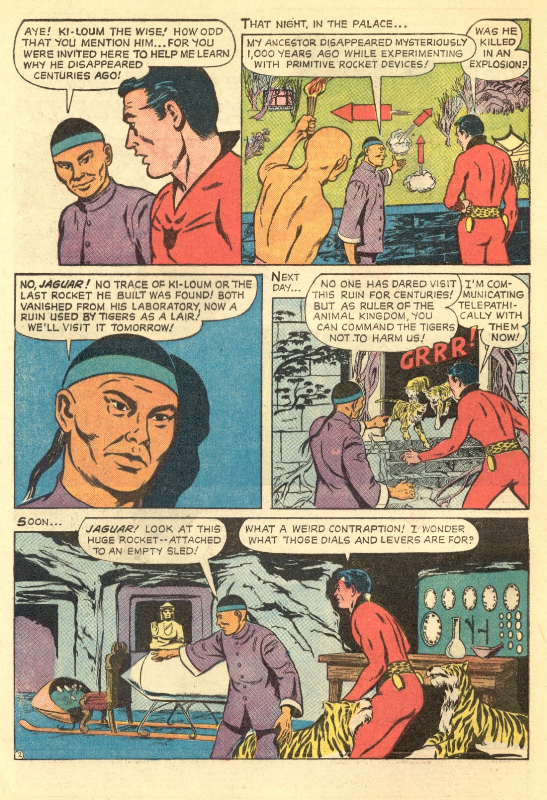 Adventures of the Jaguar issue 4 - Page 4