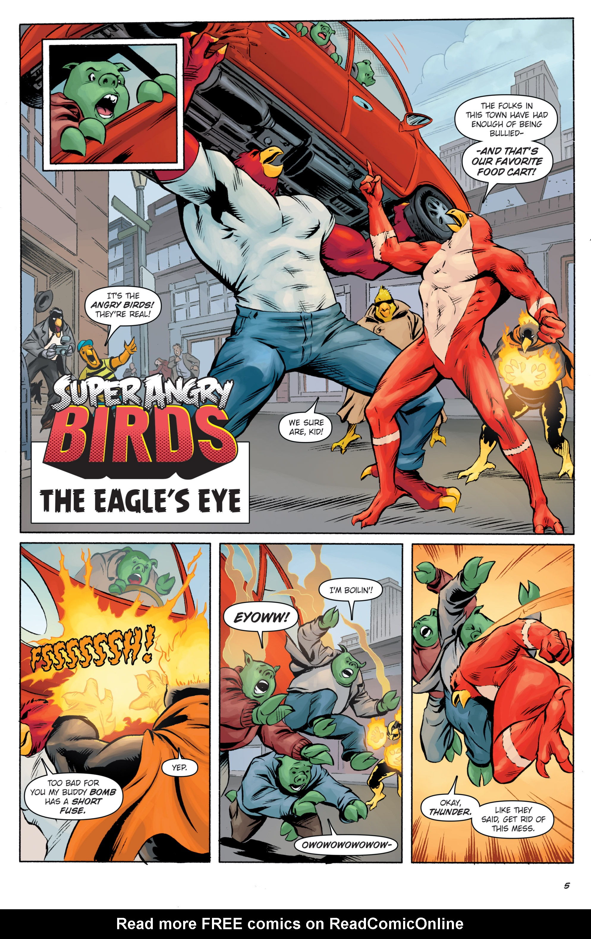 Read online Angry Birds Comics (2016) comic -  Issue #5 - 29