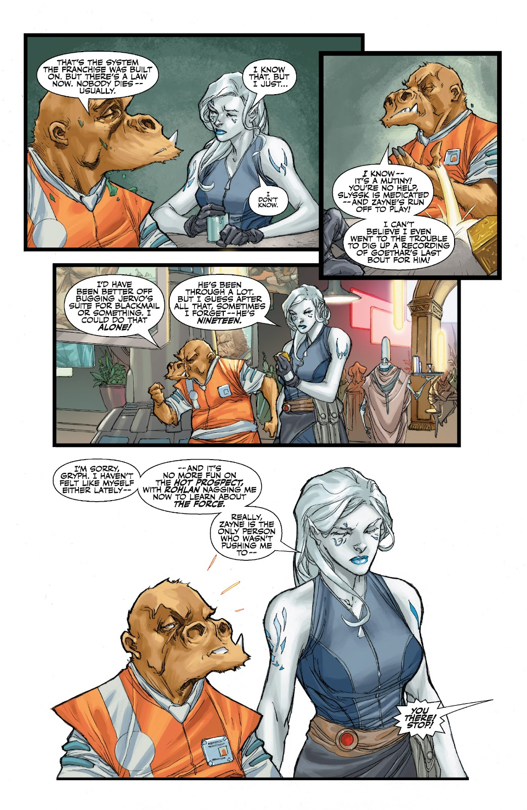 Read online Star Wars Legends: The Old Republic - Epic Collection comic -  Issue # TPB 3 (Part 1) - 47