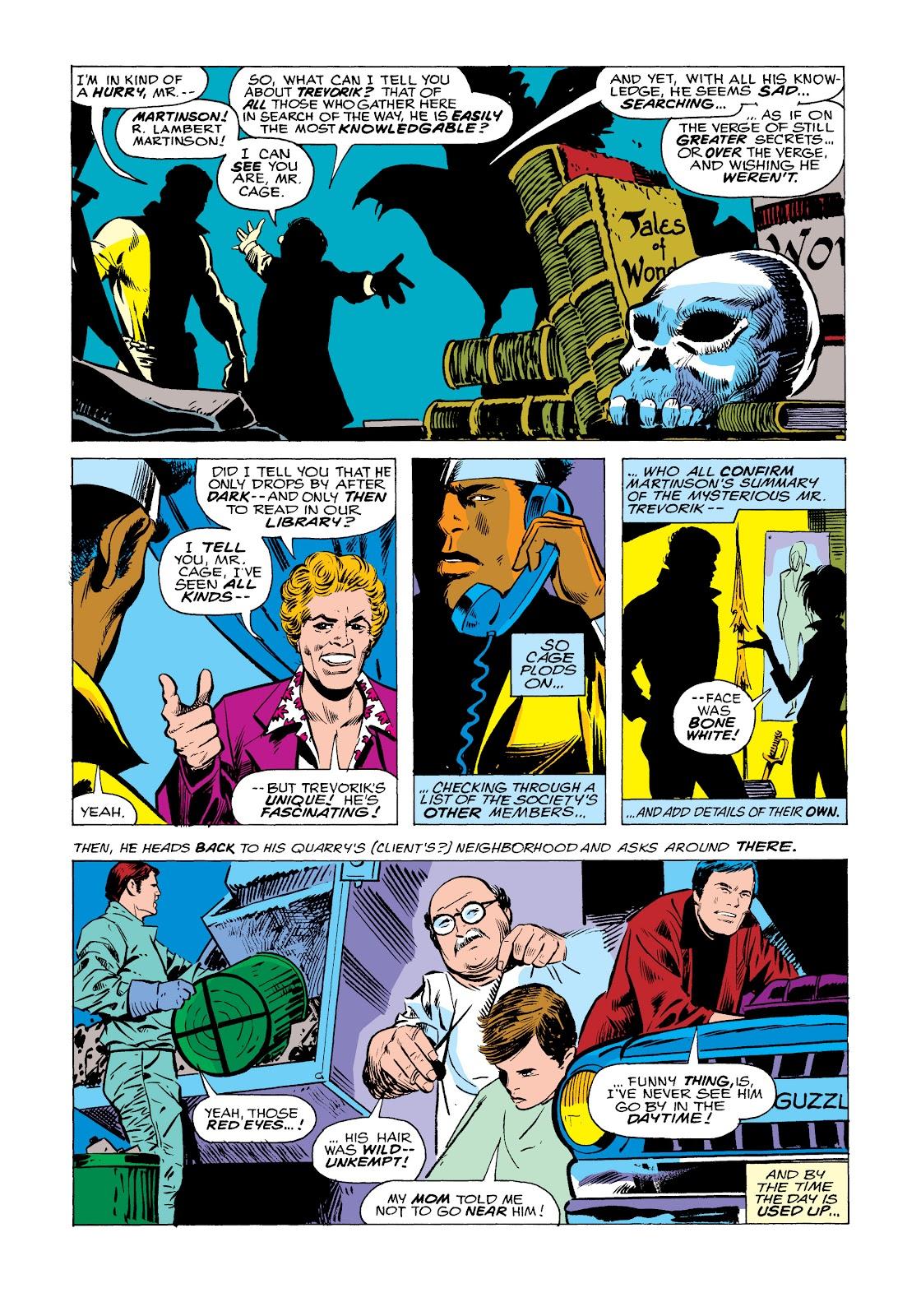 Read online Marvel Masterworks: Luke Cage, Power Man comic -  Issue # TPB 2 (Part 2) - 89