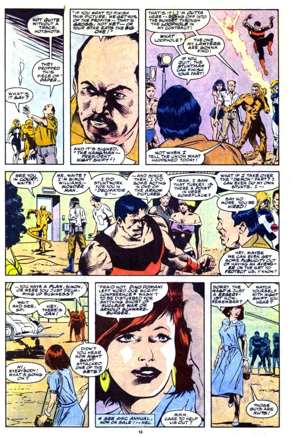 Avengers West Coast (1989) issue 76 - Page 11