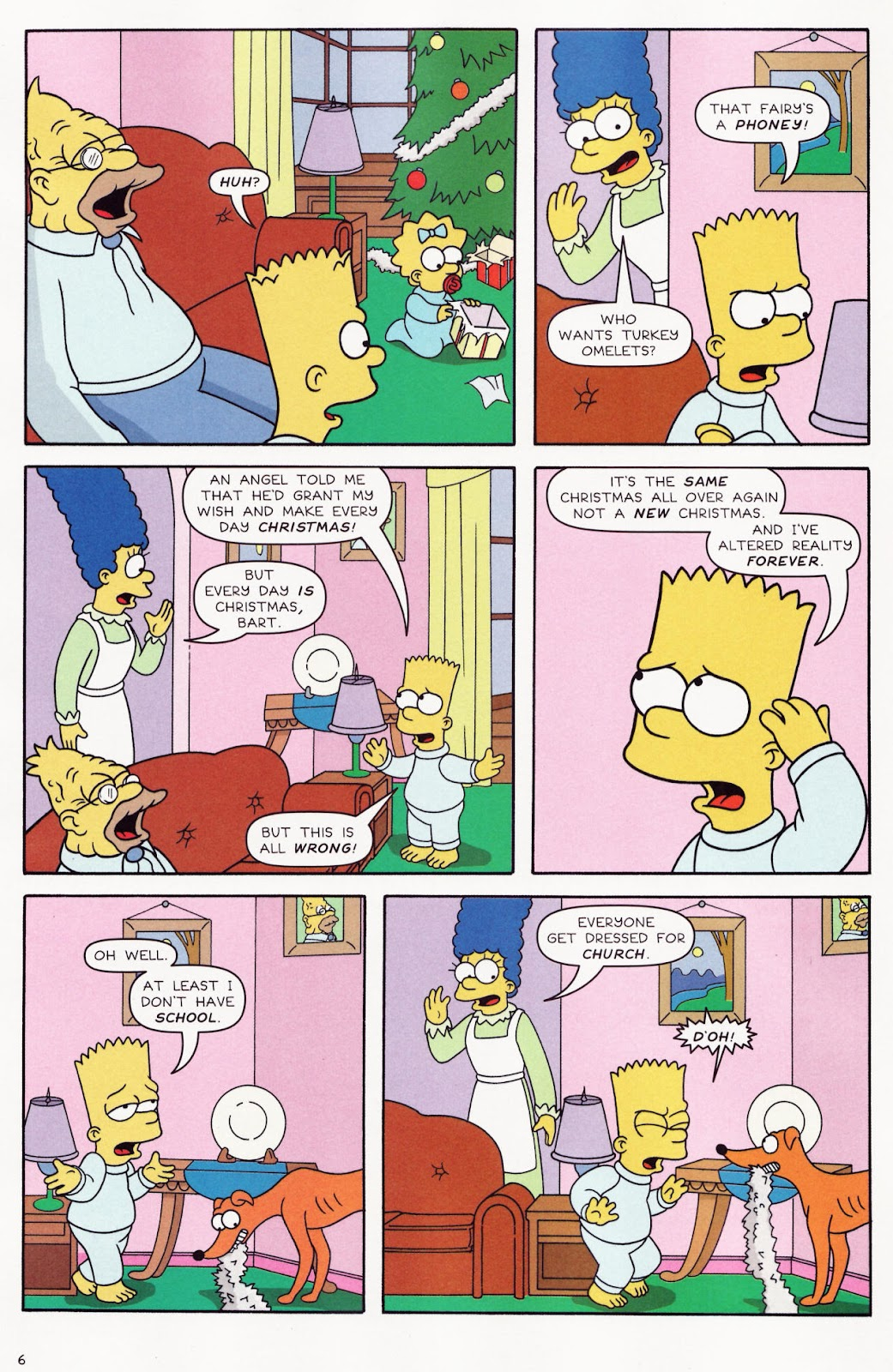 Read online The Simpsons Winter Wingding comic -  Issue #2 - 8