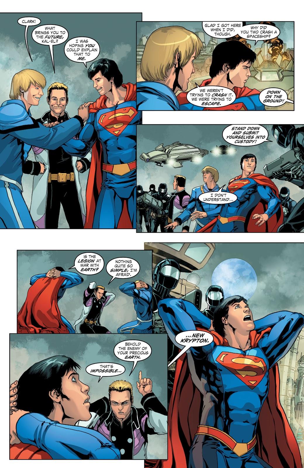 Read online Smallville Season 11 [II] comic -  Issue # TPB 4 - 26