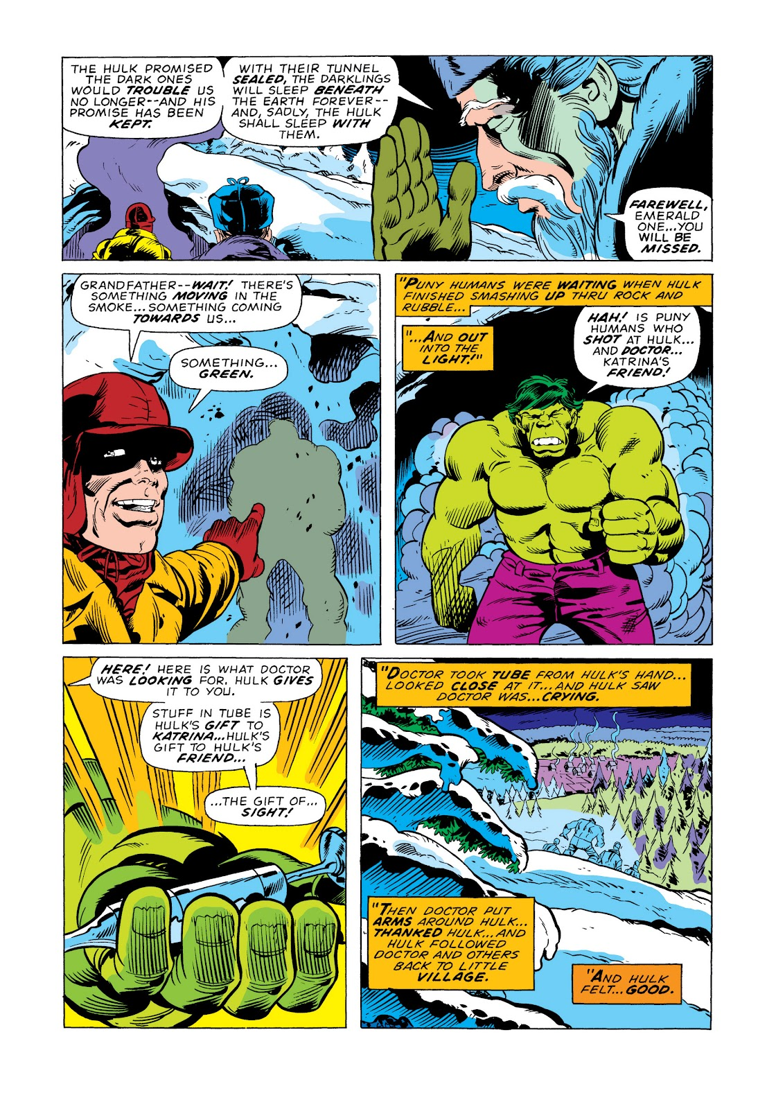 Read online Marvel Masterworks: The Incredible Hulk comic -  Issue # TPB 11 (Part 2) - 17