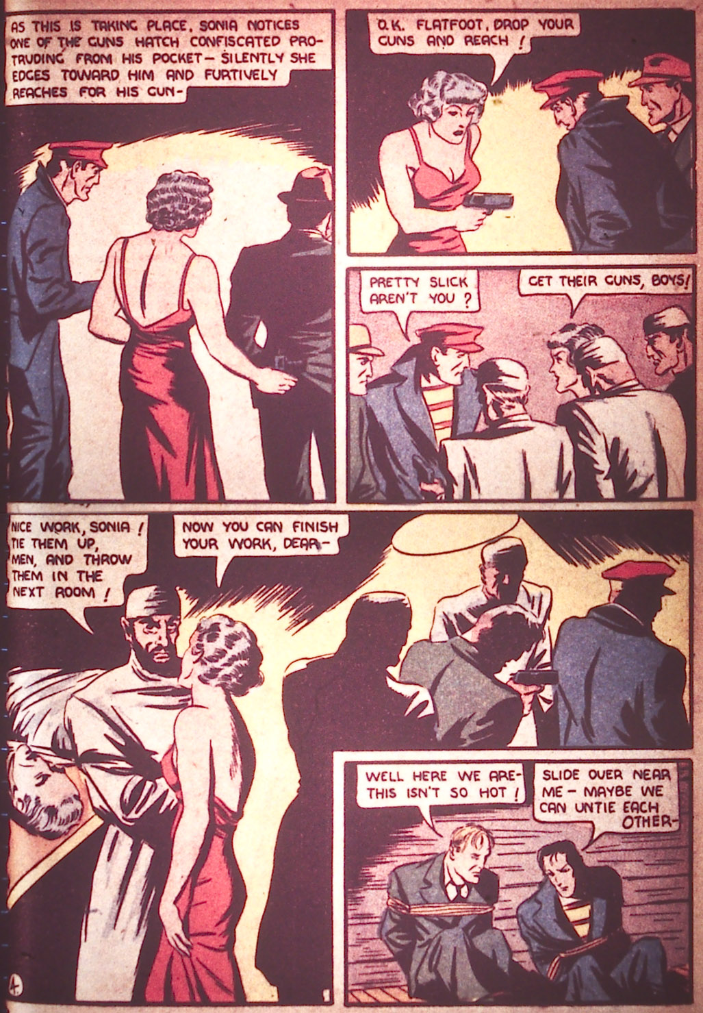 Read online Detective Comics (1937) comic -  Issue #9 - 13