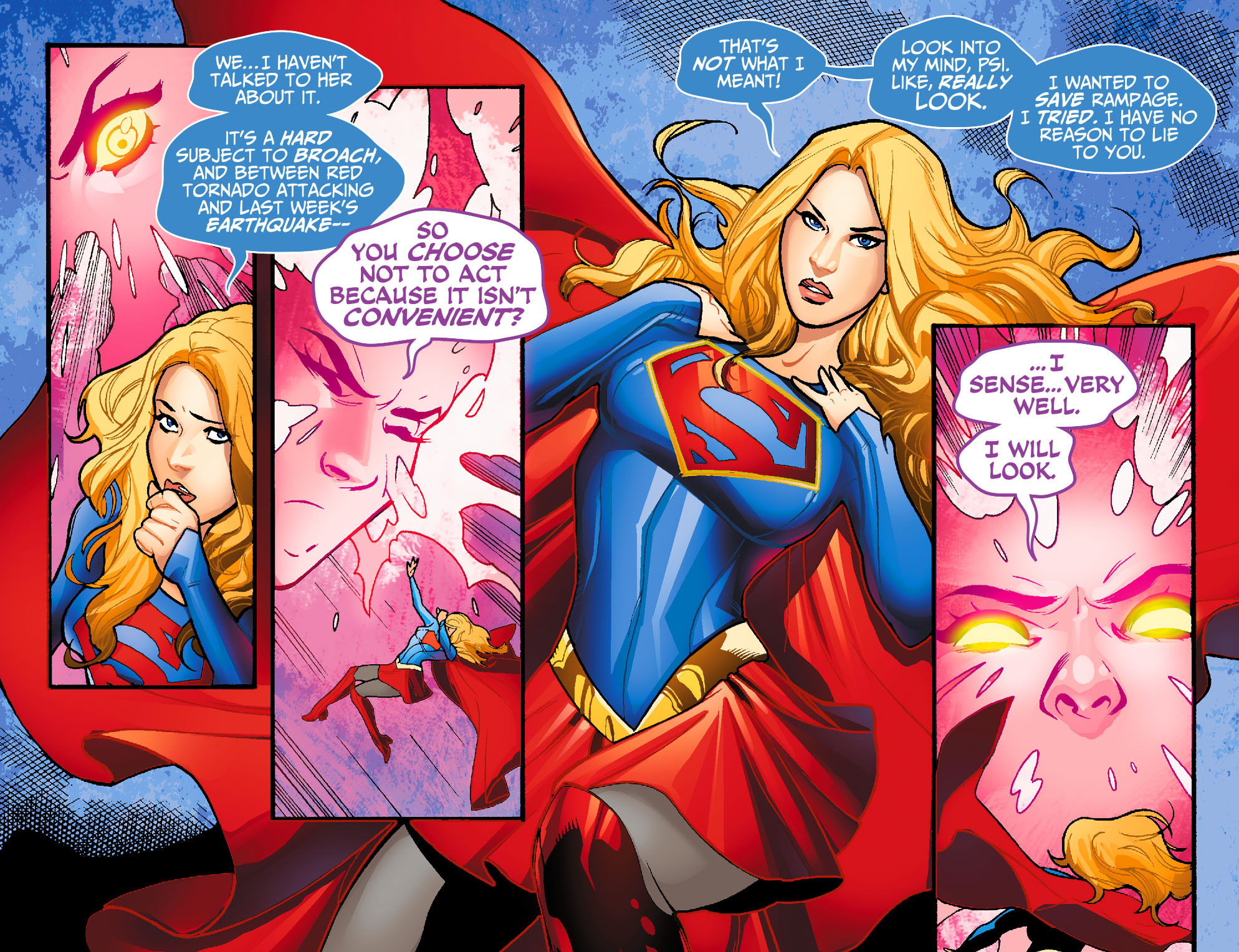 Read online Adventures of Supergirl comic -  Issue #7 - 19
