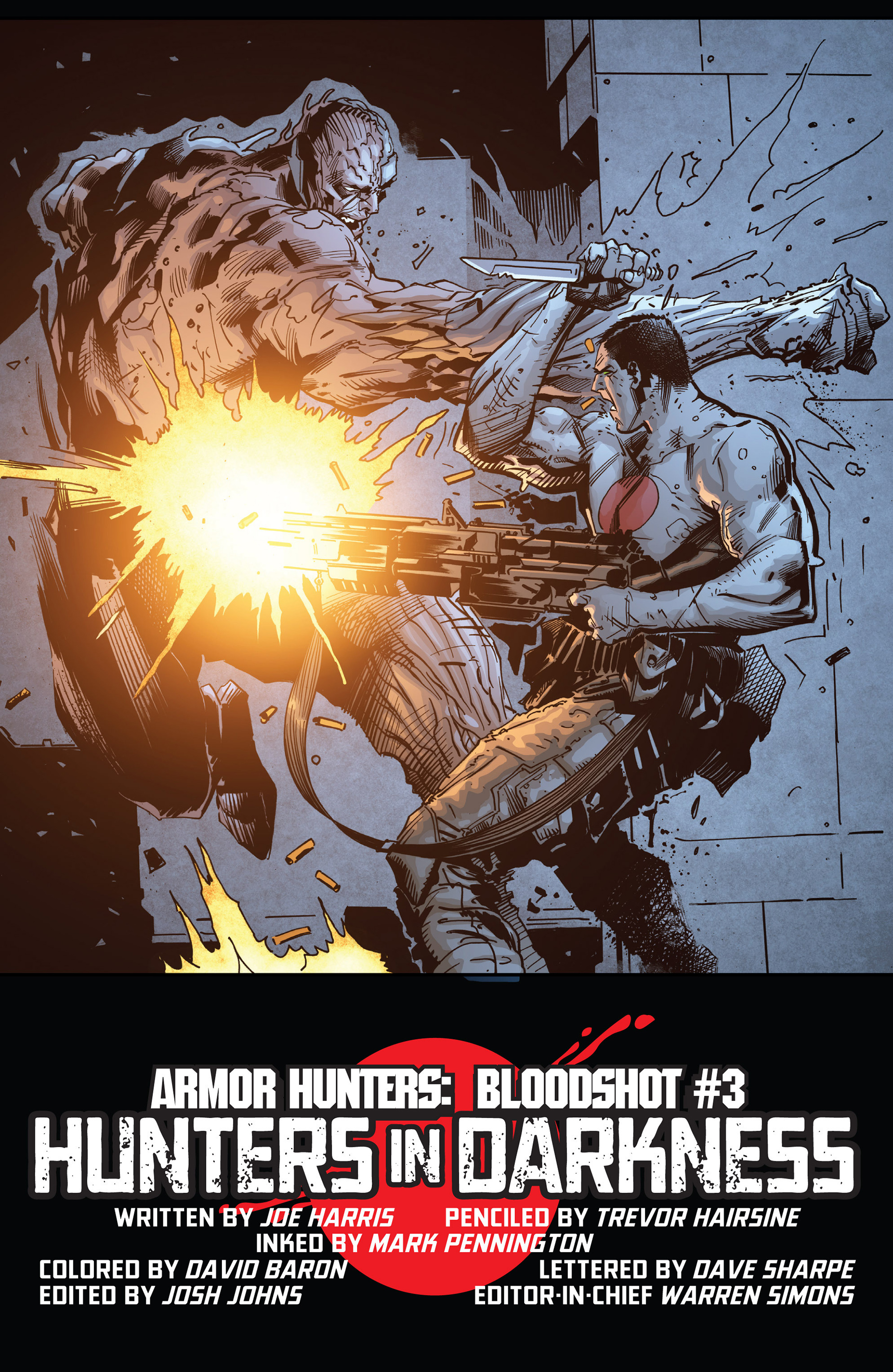 Read online Armor Hunters: Bloodshot comic -  Issue #3 - 9