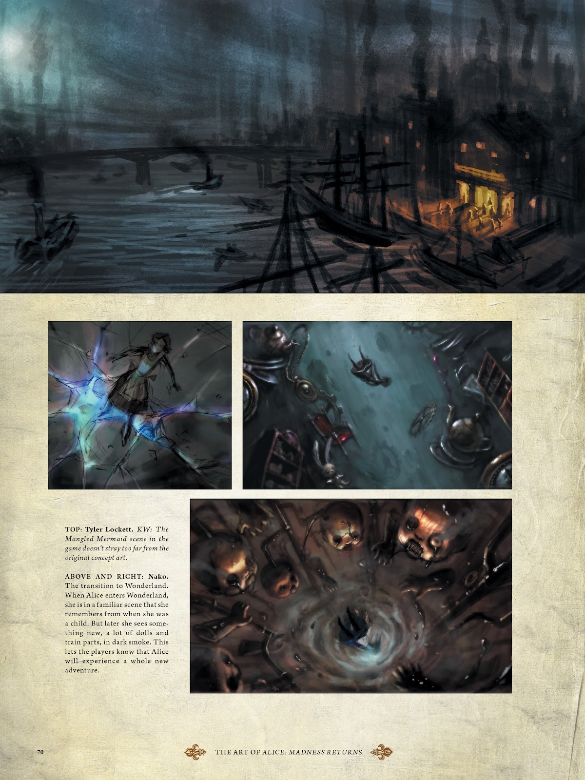 Read online The Art of Alice: Madness Returns comic -  Issue # TPB (Part 1) - 63