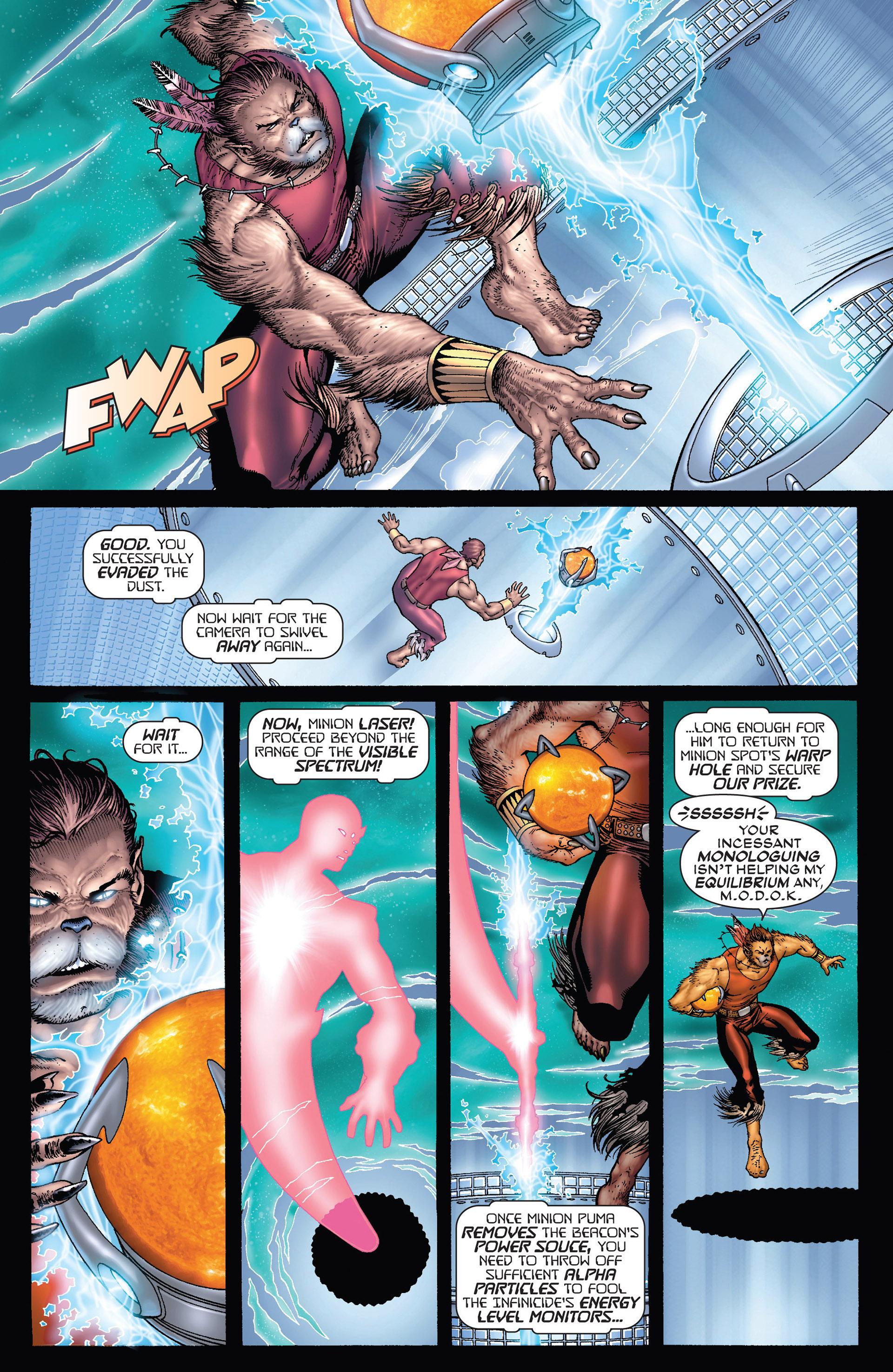 Read online Super-Villain Team-Up/MODOK's 11 comic -  Issue #3 - 11
