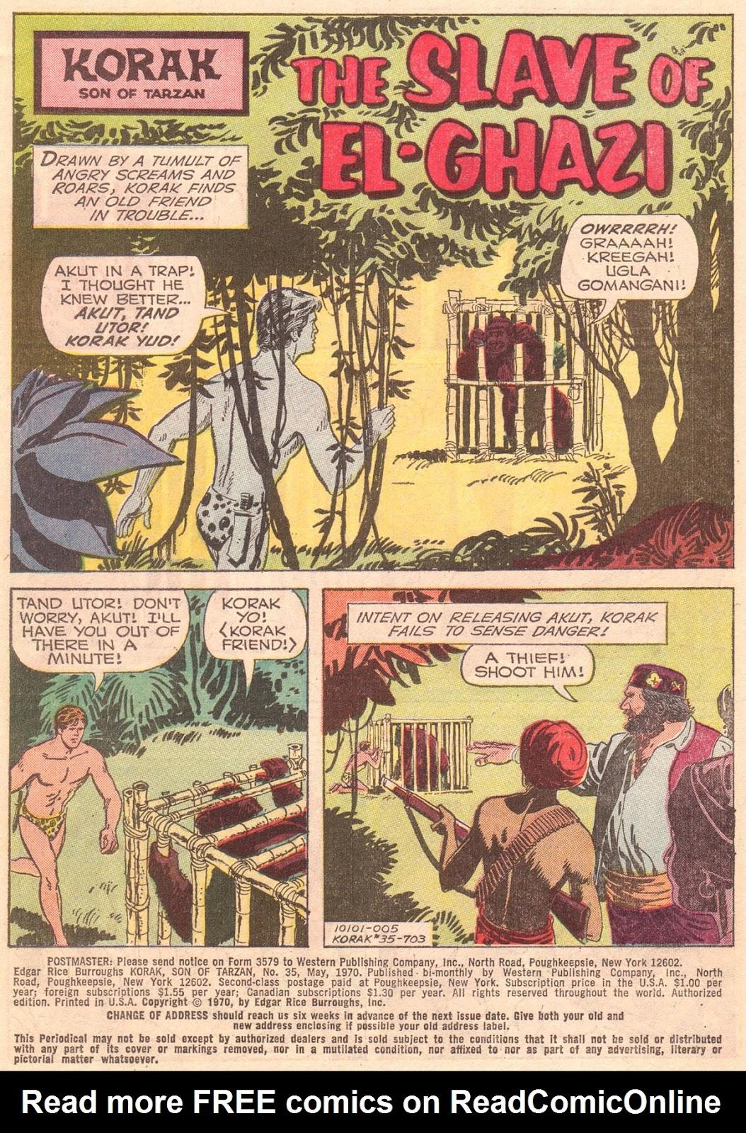 Korak, Son of Tarzan (1964) issue 35 - Page 3