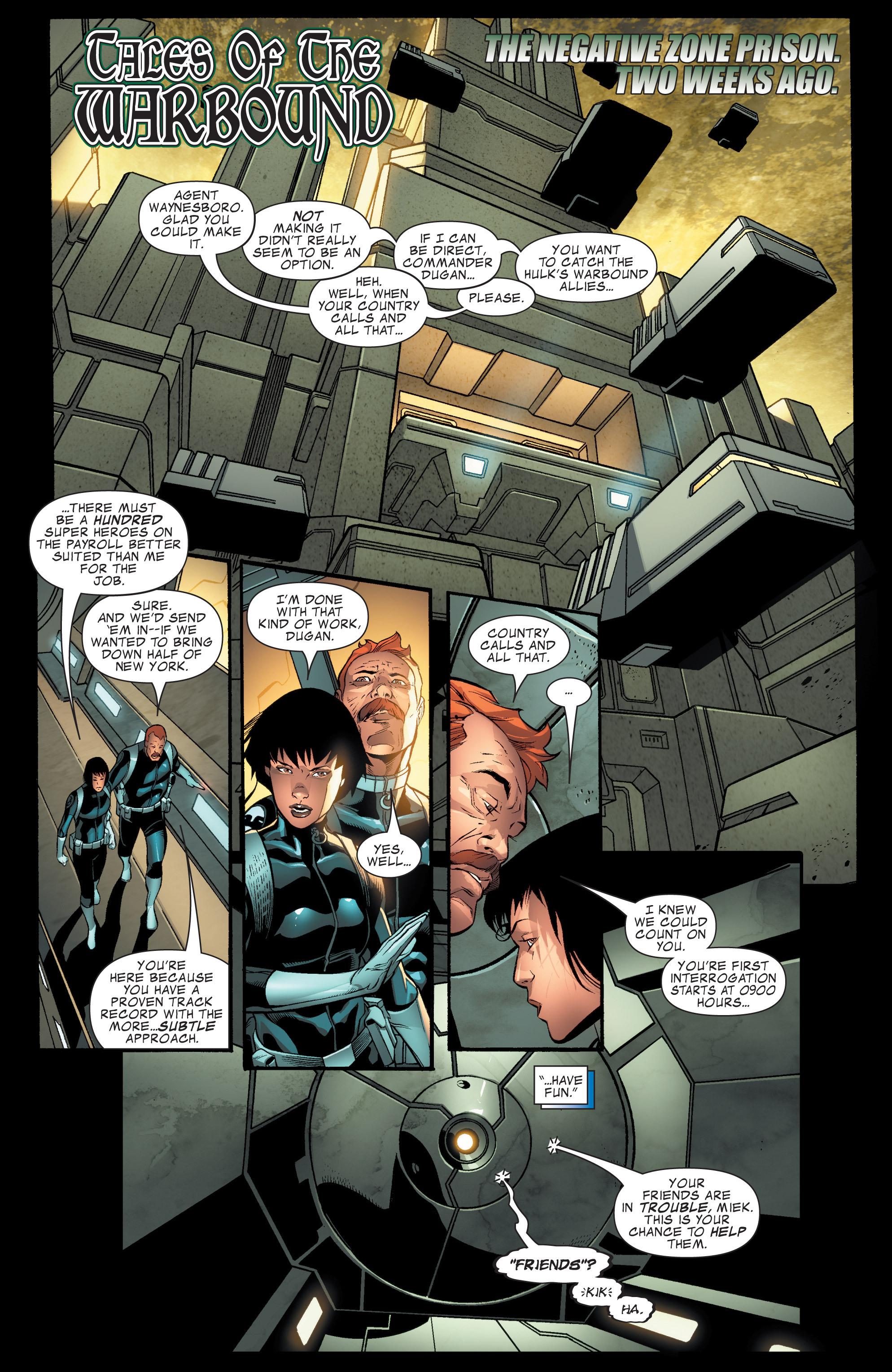Read online World War Hulk Aftersmash: Warbound, Vol. 1 comic -  Issue #1 - 20