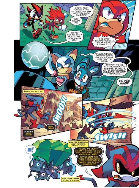 Read online Sonic Comics Spectacular: Speed of Sound comic -  Issue # Full - 241