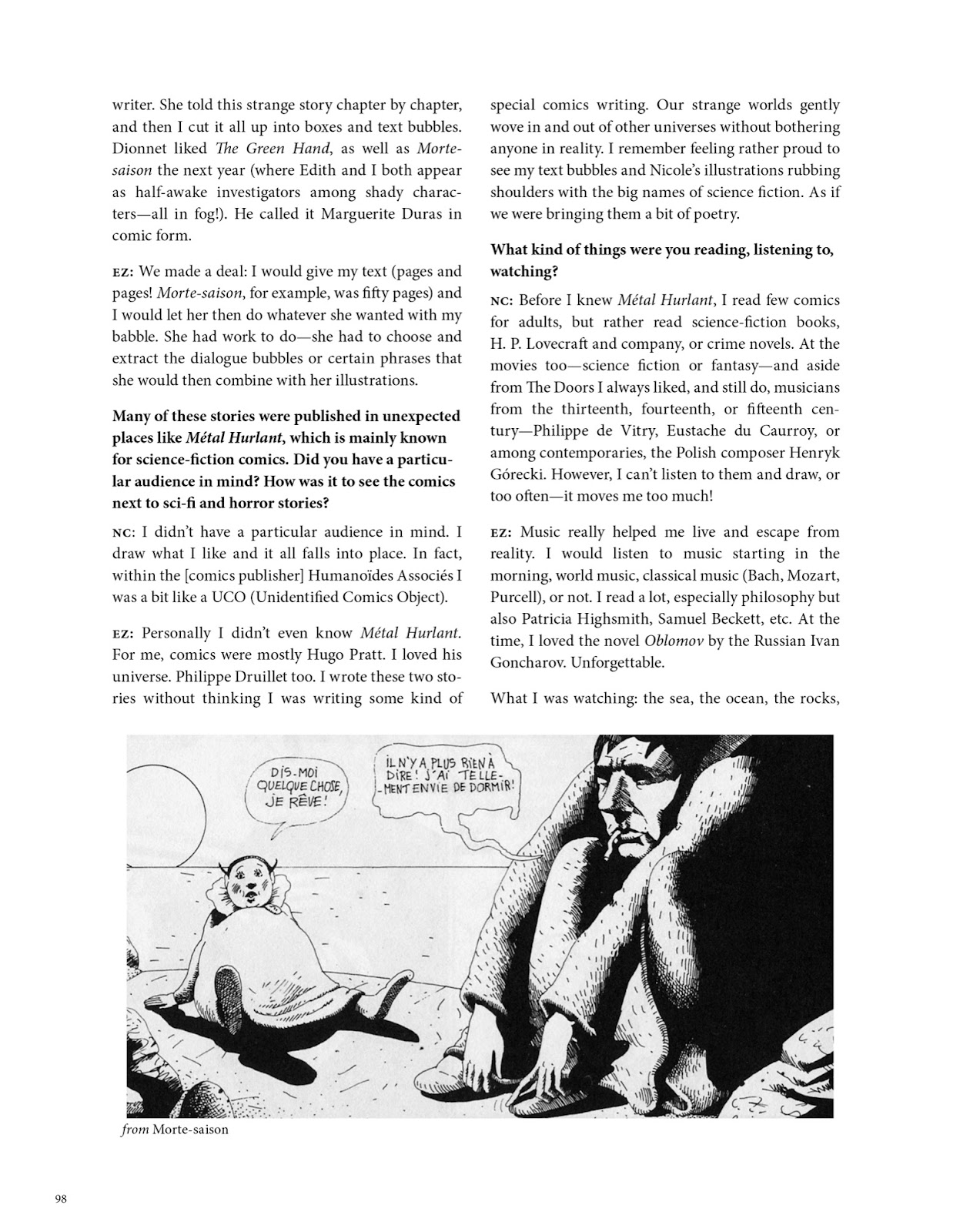 Read online The Green Hand and Other Stories comic -  Issue # TPB - 92