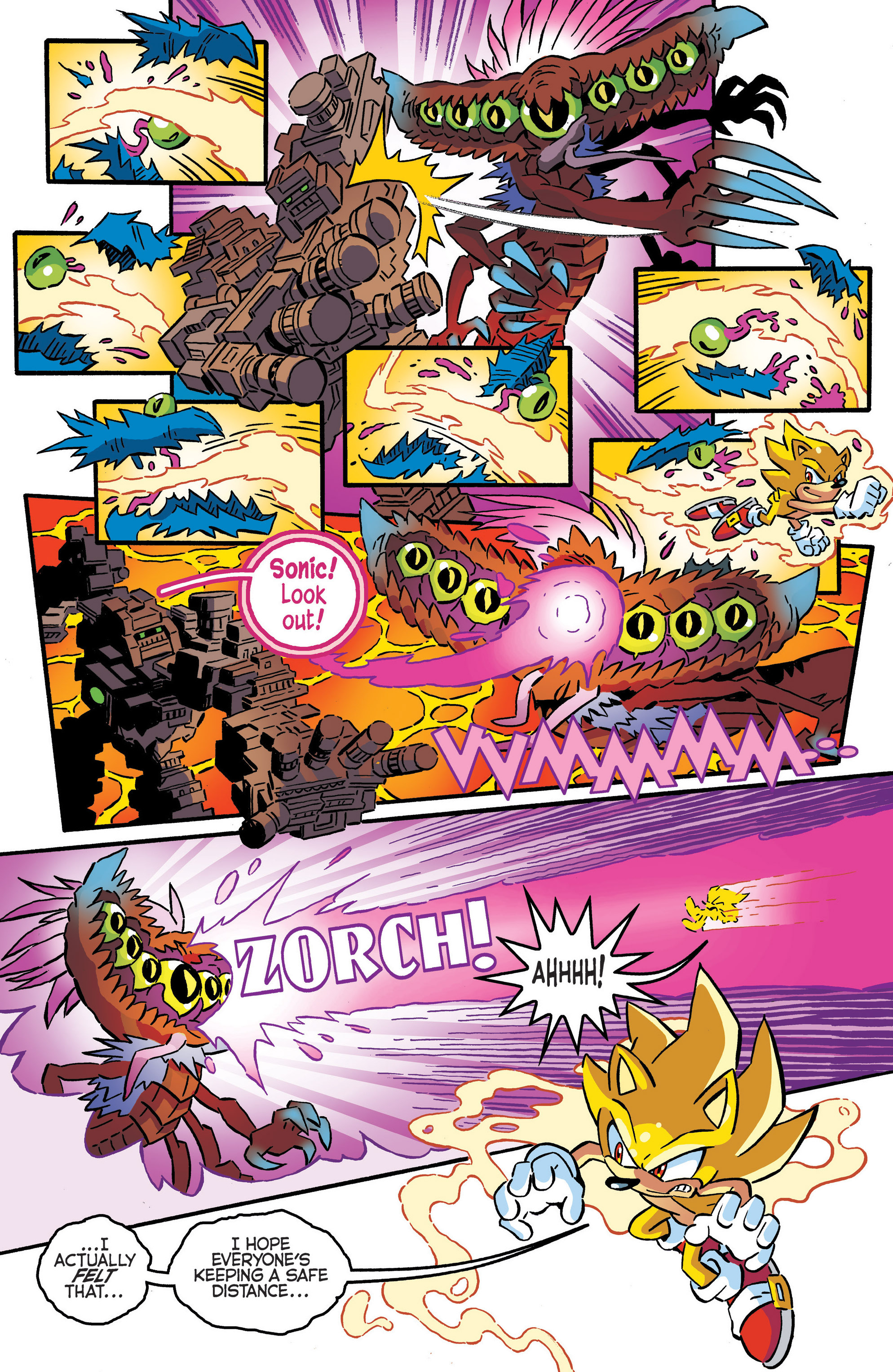 Read online Sonic The Hedgehog comic -  Issue #287 - 5