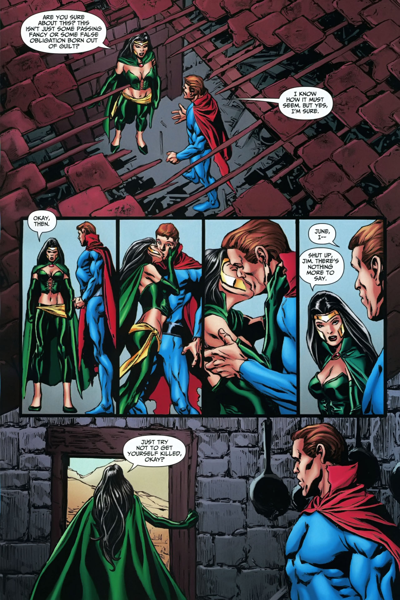Read online Shadowpact comic -  Issue #22 - 20