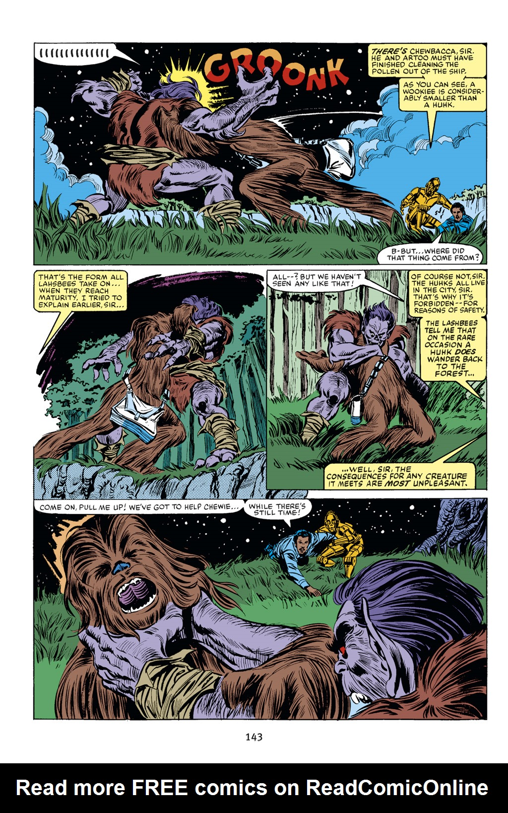 Read online Star Wars Omnibus comic -  Issue # Vol. 18 - 133