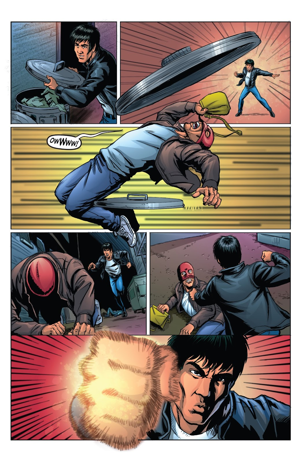 Bruce Lee: Walk of the Dragon issue Full - Page 10