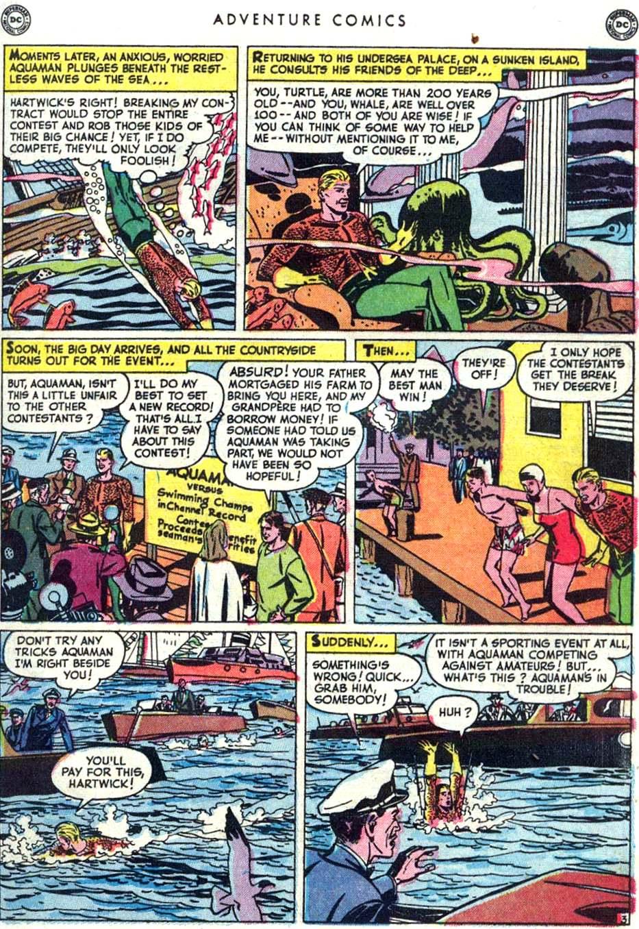 Read online Adventure Comics (1938) comic -  Issue #156 - 27