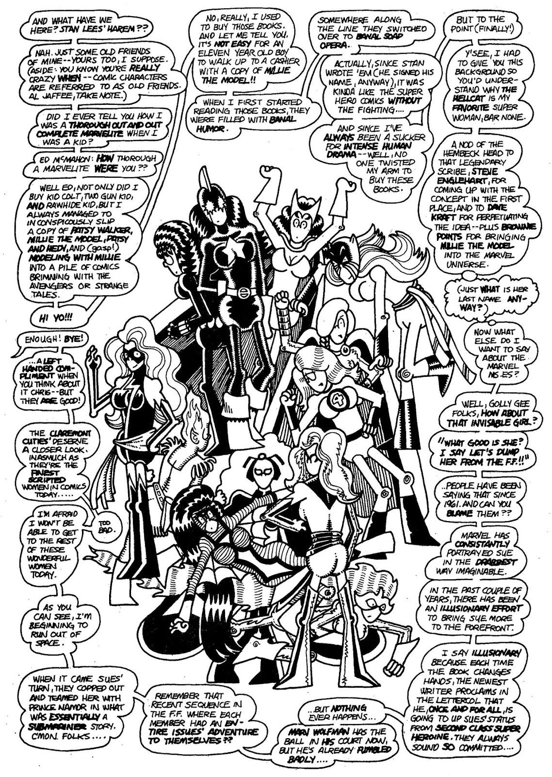 Read online The Nearly Complete Essential Hembeck Archives Omnibus comic -  Issue # TPB (Part 1) - 63