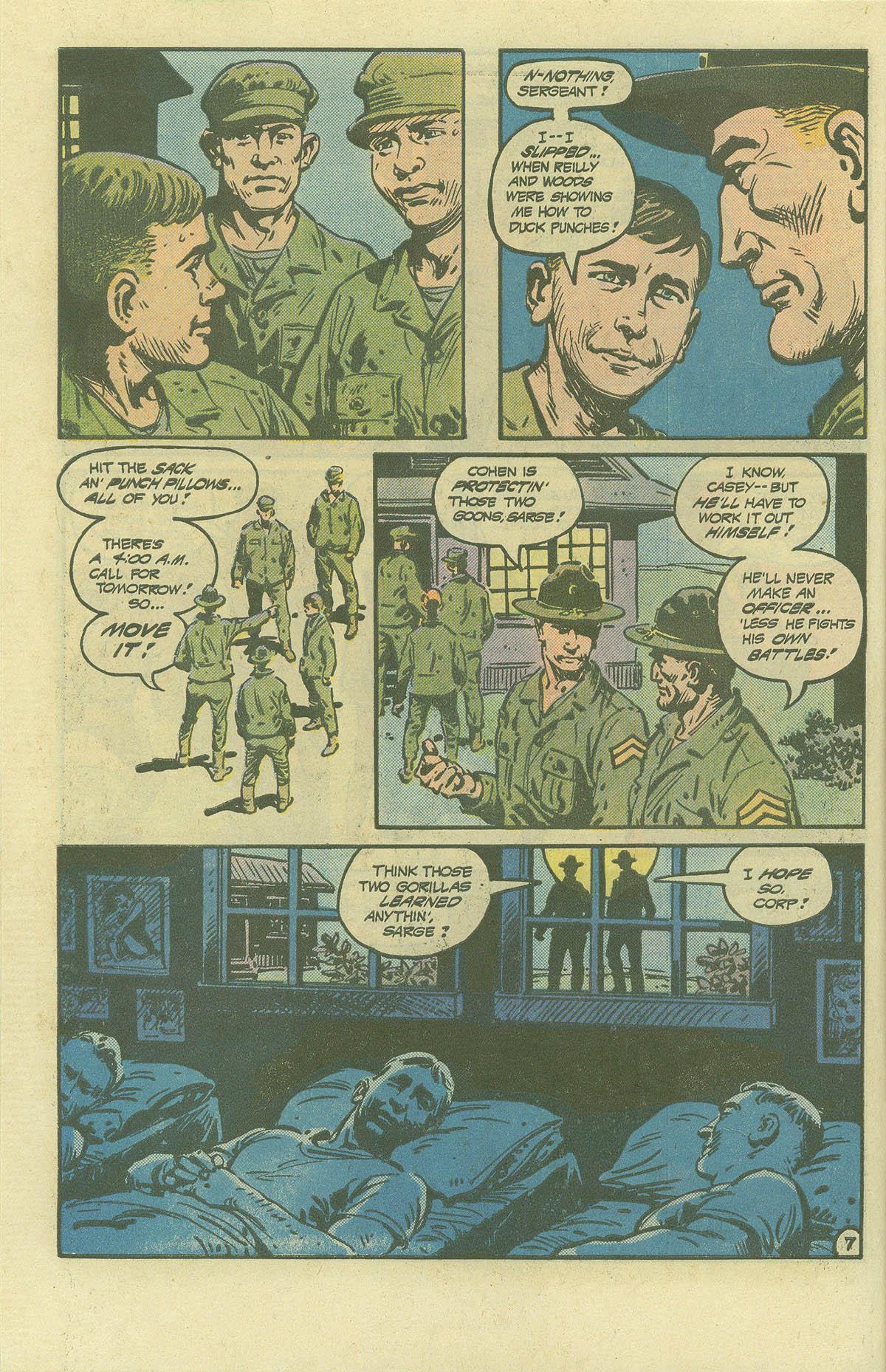 Read online Sgt. Rock comic -  Issue #392 - 7