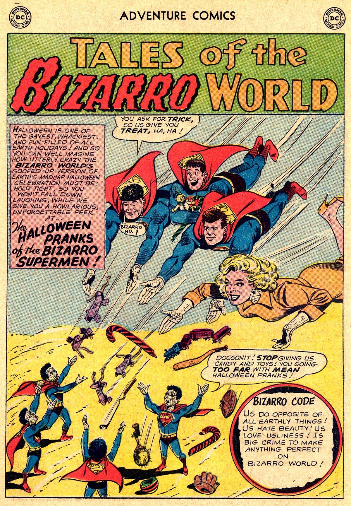 Read online Adventure Comics (1938) comic -  Issue #294 - 19