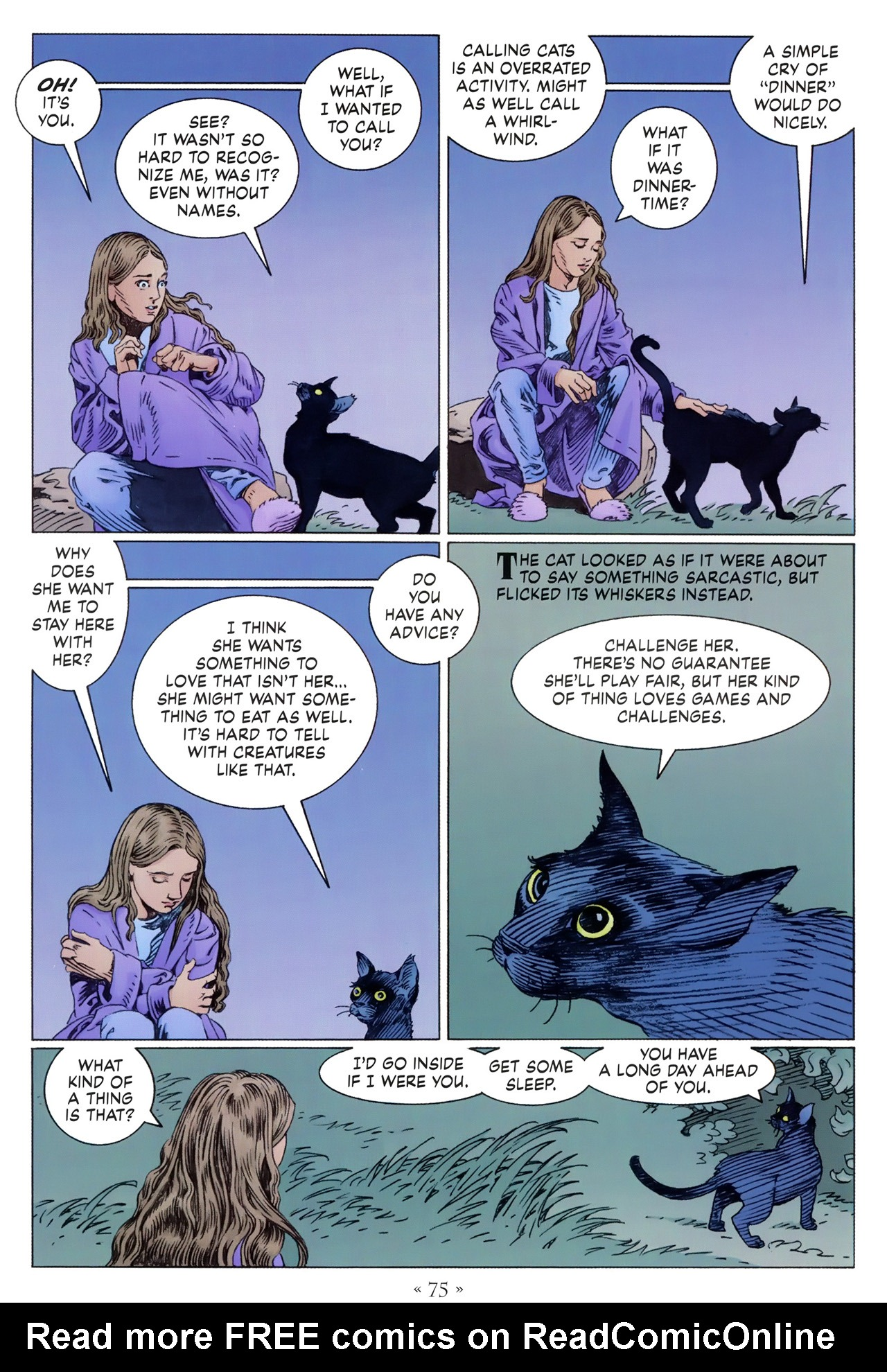 Read online Coraline comic -  Issue #1 - 81