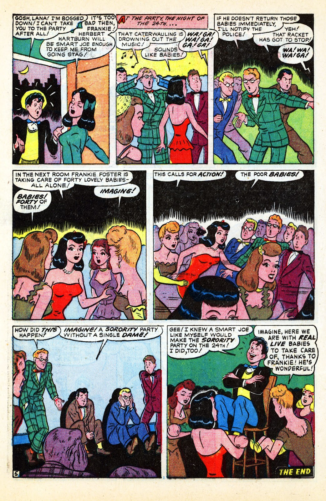 Georgie Comics (1945) issue 17 - Page 40