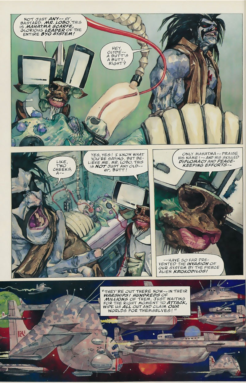 Lobo: Fragtastic Voyage issue Full - Page 5