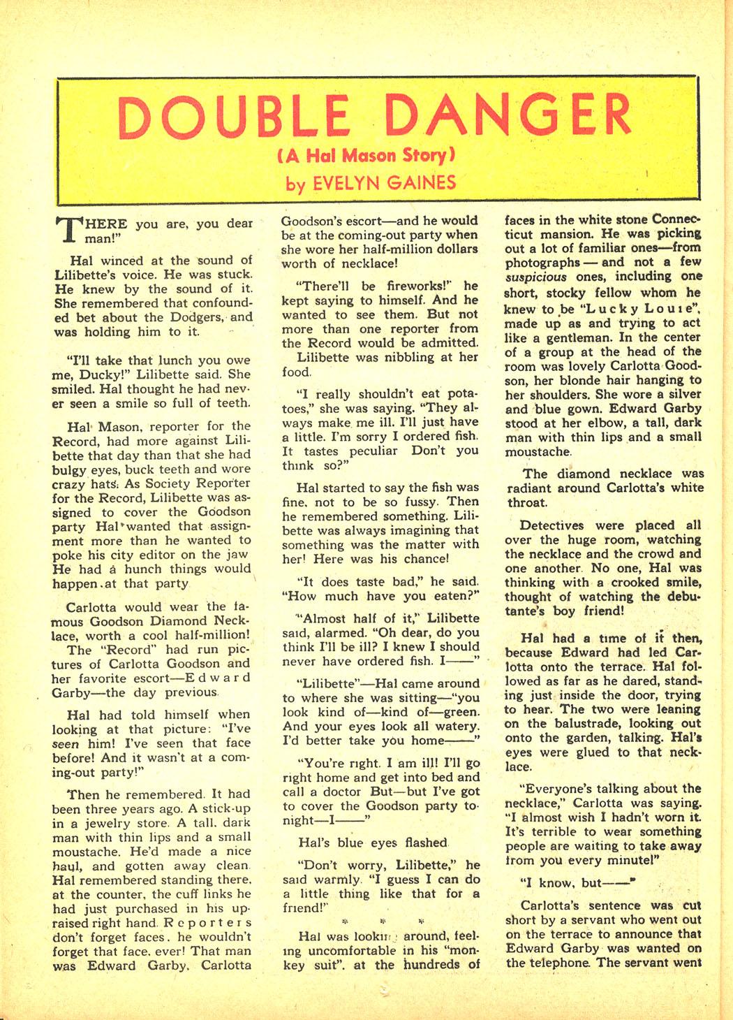 Read online Sensation (Mystery) Comics comic -  Issue #4 - 46