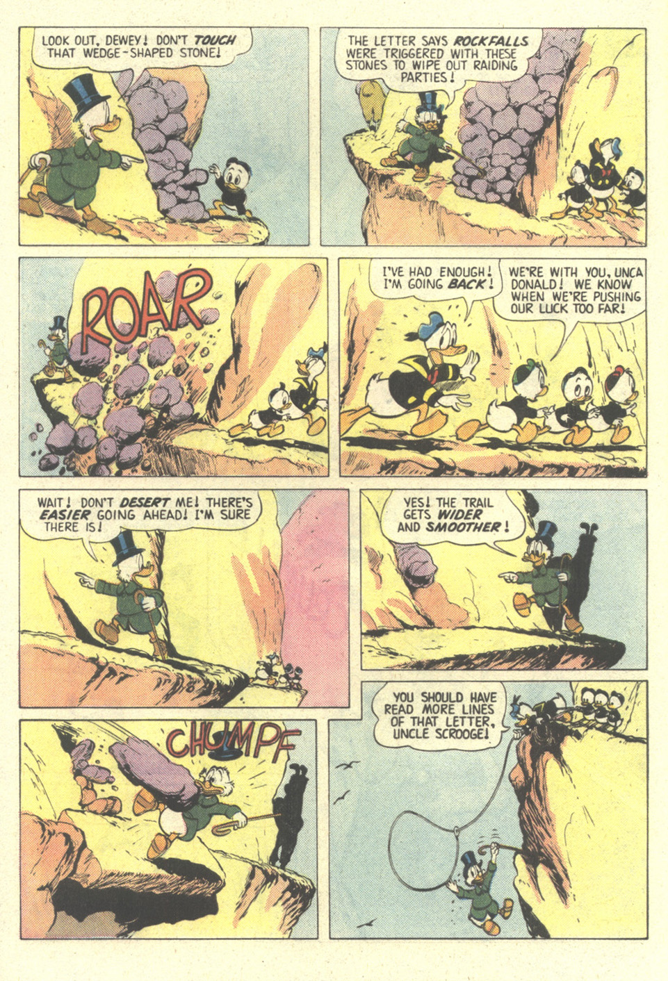 Read online Uncle Scrooge (1953) comic -  Issue #211 - 8