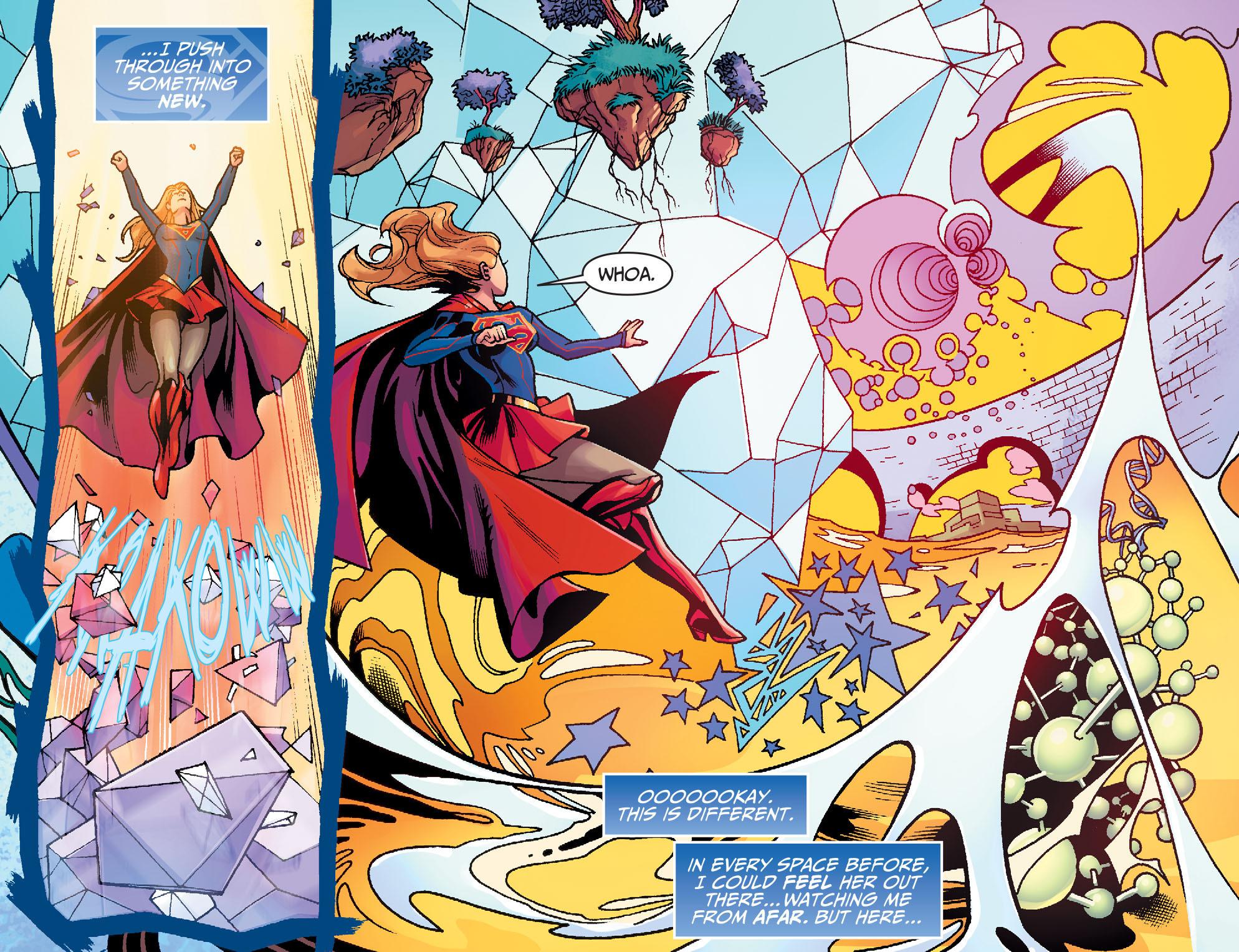 Read online Adventures of Supergirl comic -  Issue #7 - 11