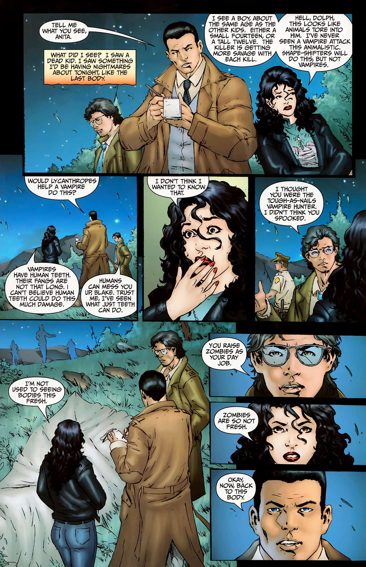 Read online Anita Blake, Vampire Hunter: The First Death comic -  Issue #1 - 7