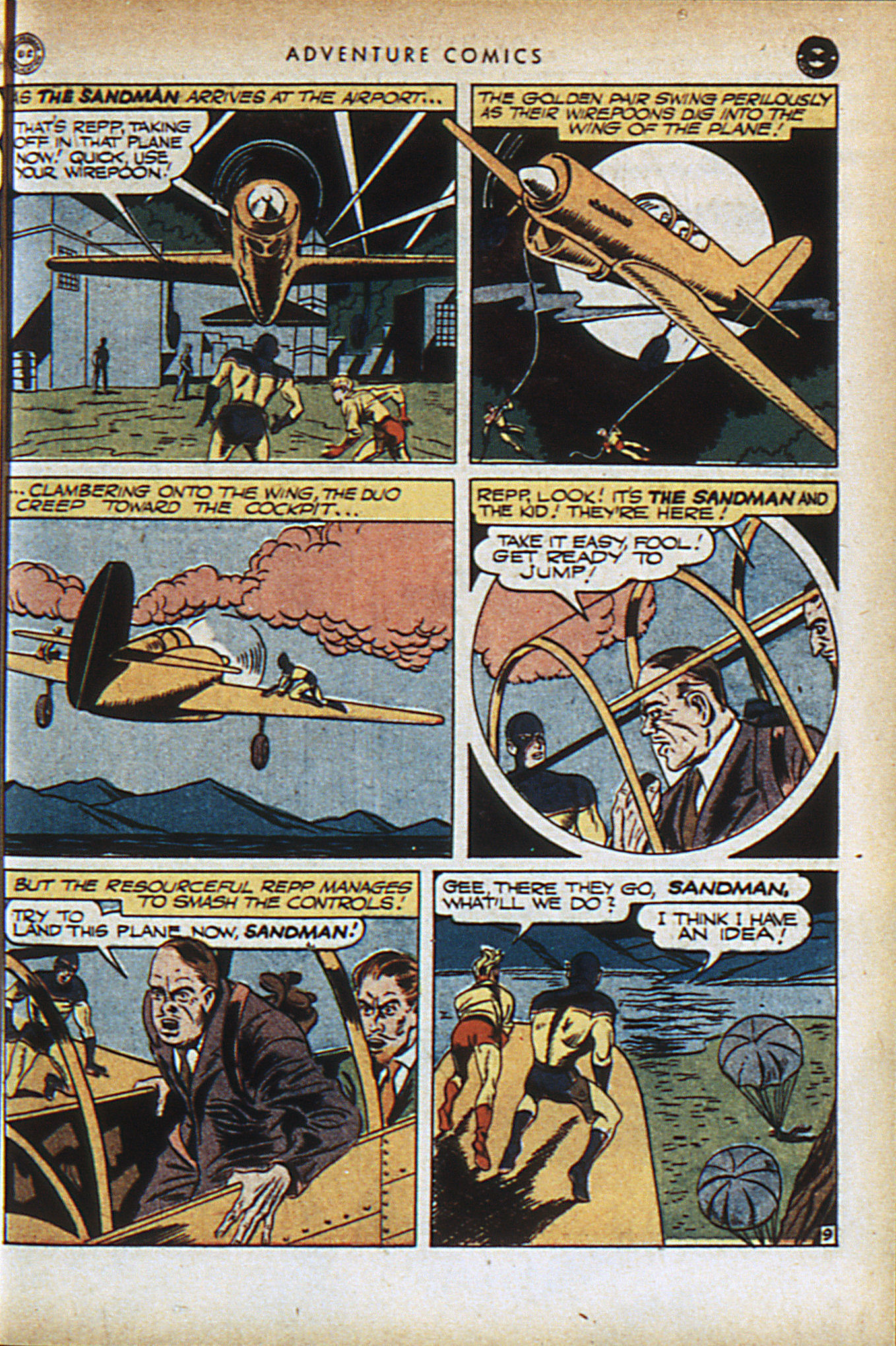 Read online Adventure Comics (1938) comic -  Issue #95 - 12