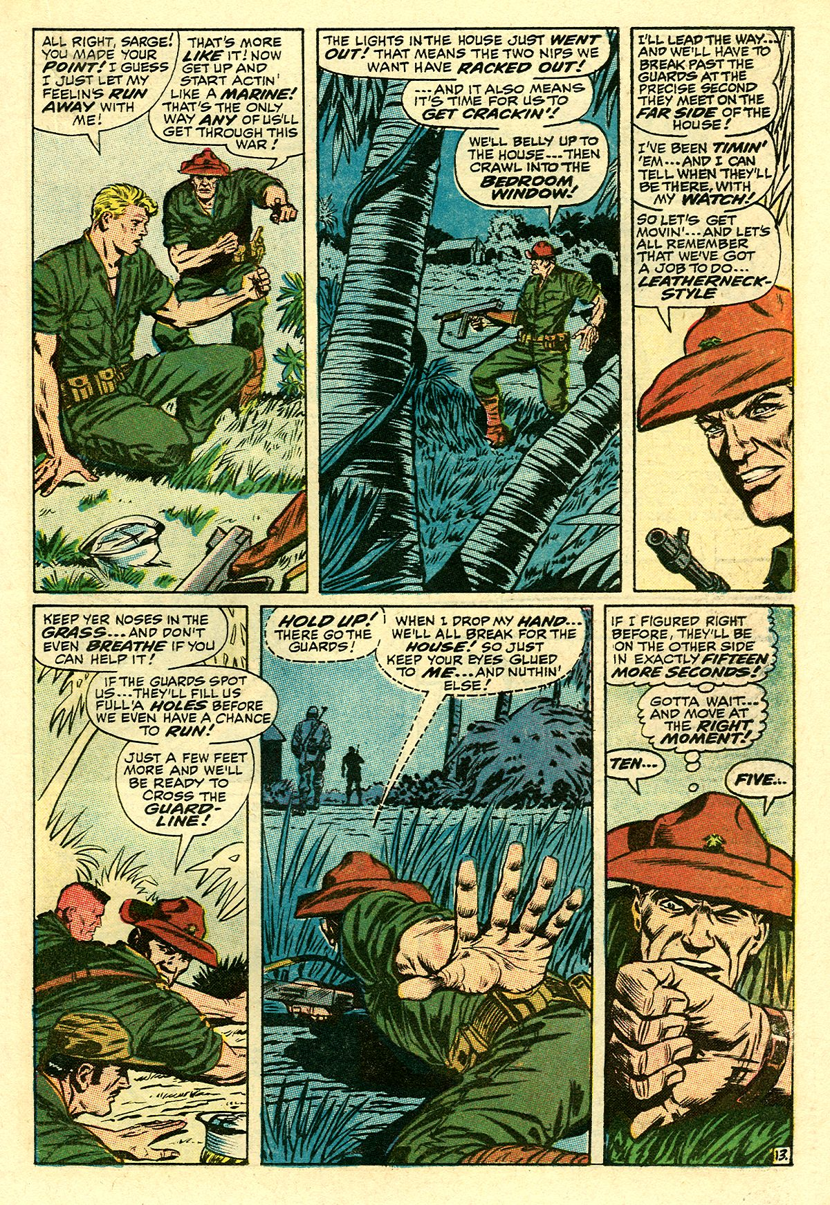 Captain Savage and his Leatherneck Raiders issue 8 - Page 19